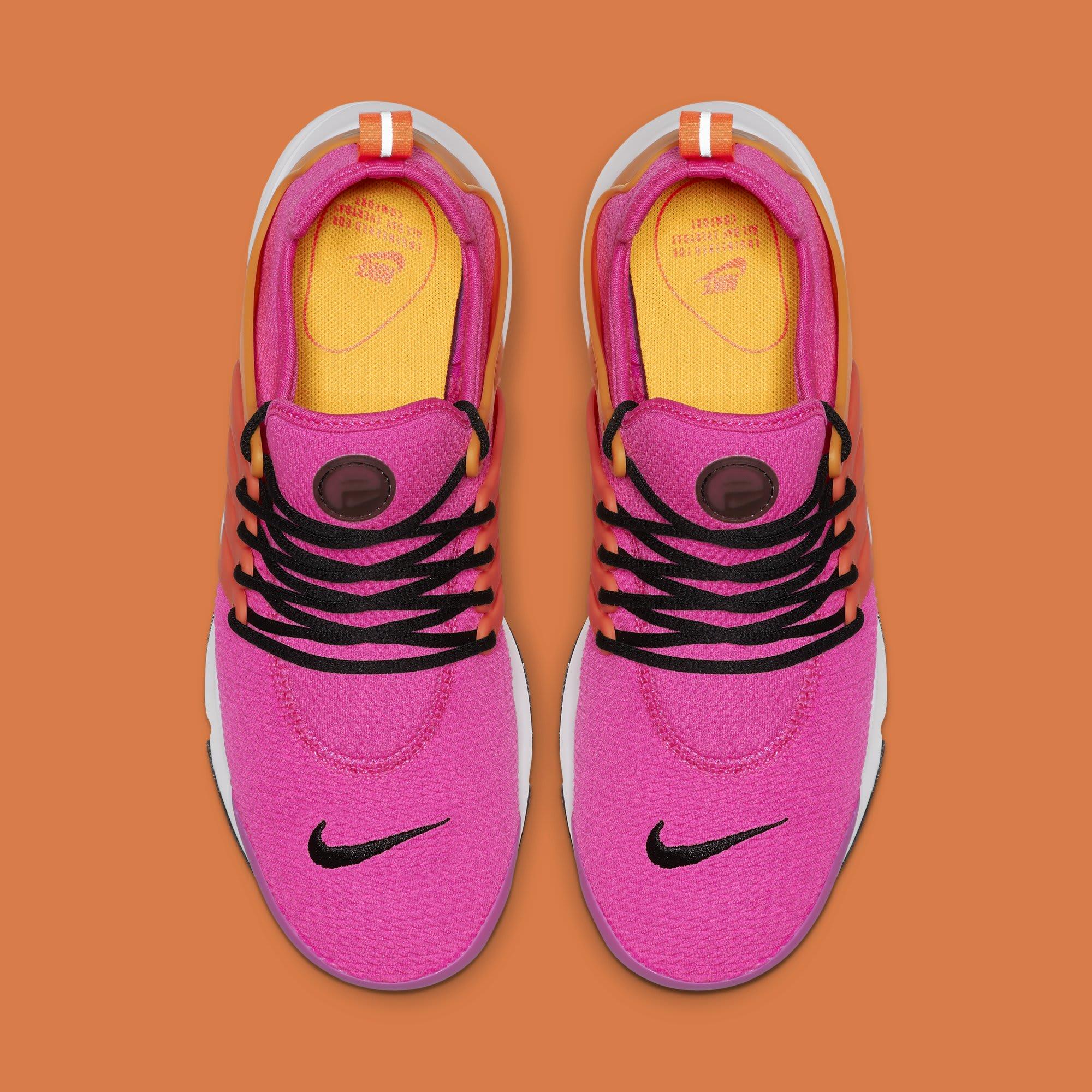 WMNS Nike Air Presto 'Laser Fuchsia' 878068-607 (Top)