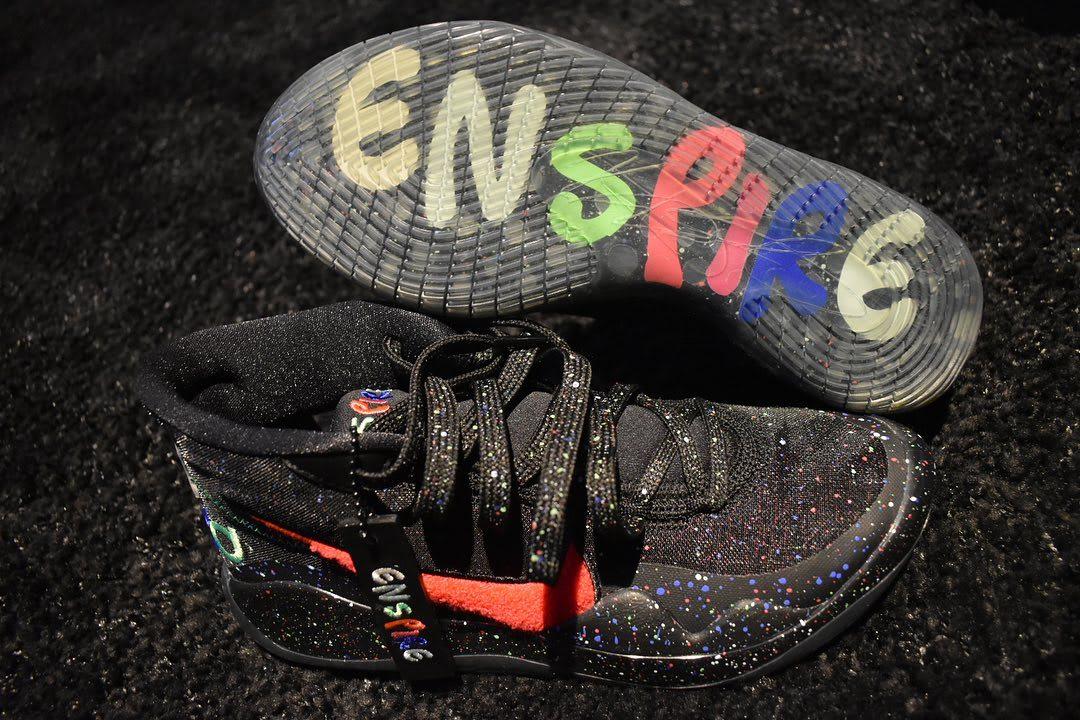 Enspire x Nike KD 12 Black Release Date Sole