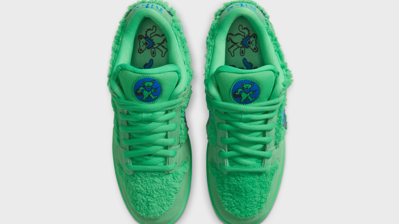 Grateful Dead x Nike SB Dunk Low 'Green' (Top)