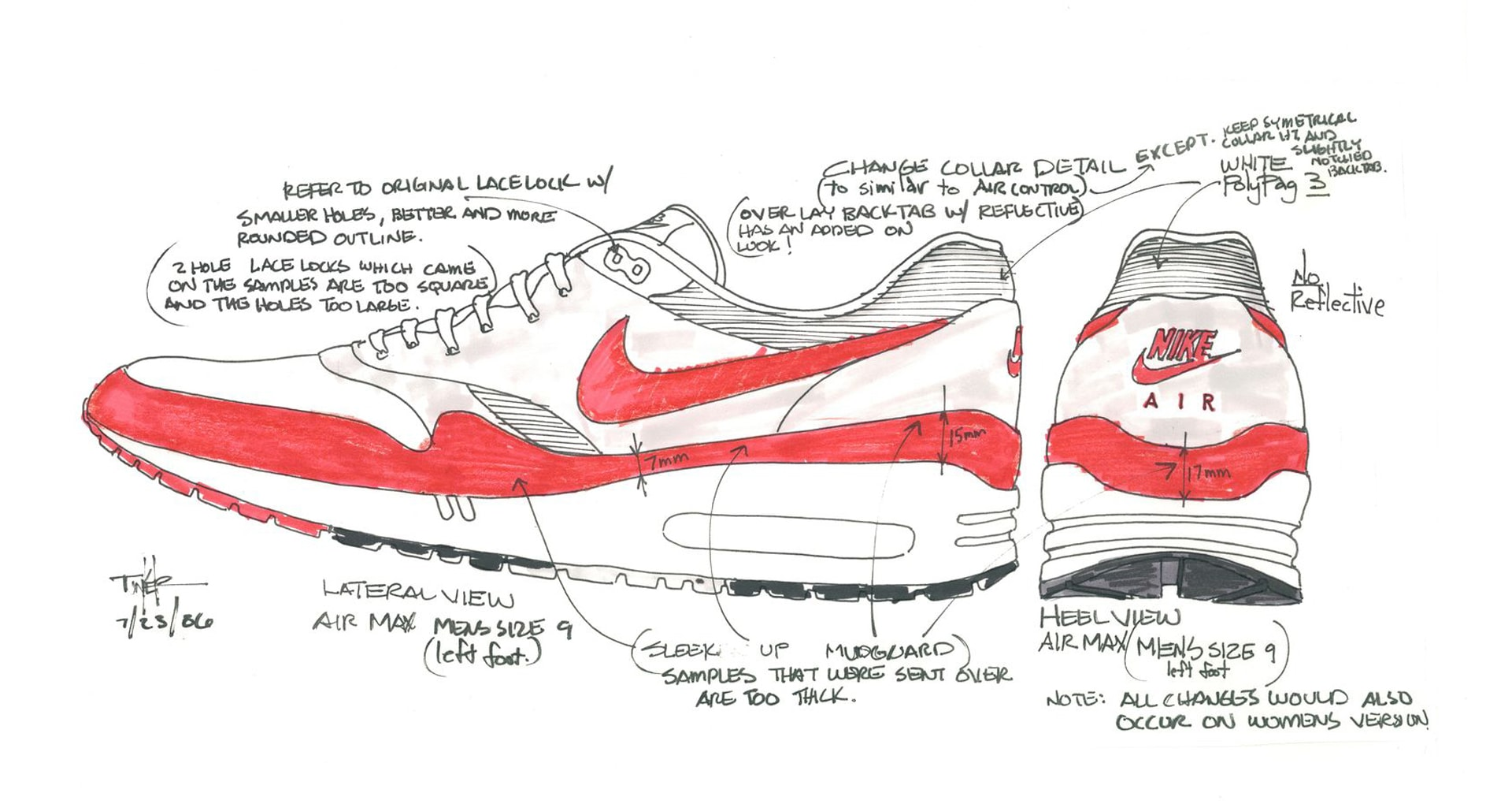 First Look: Nike Air Max 1 Tinker Schematic •