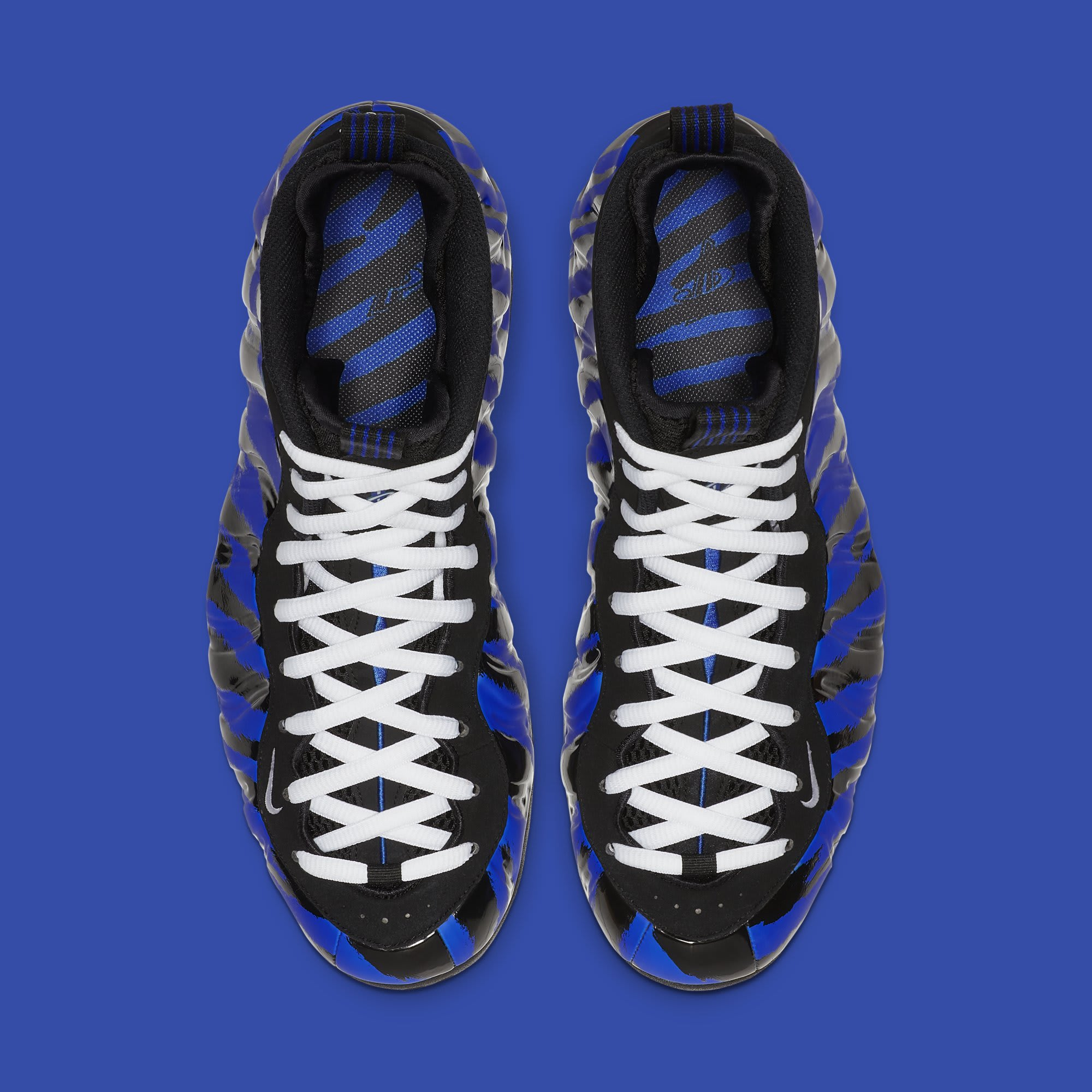 571b8d86a5e Image via Nike Nike Air Foamposite One  Tiger Stripes  BV8161-400 (Top)