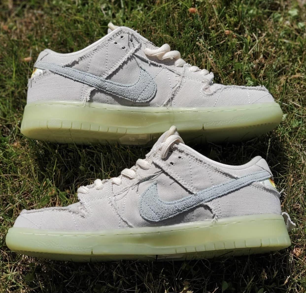 Nike SB Dunk Low Mummy Halloween DM0774-111 Side