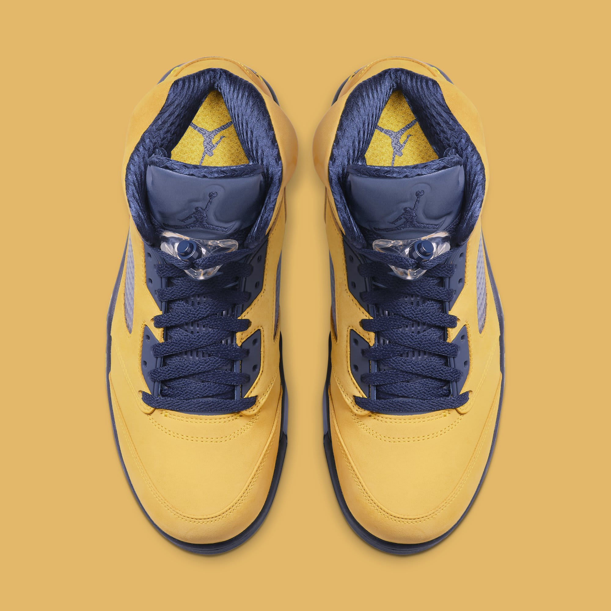 Air Jordan 5 'Michigan' CQ9541-704 (Top)