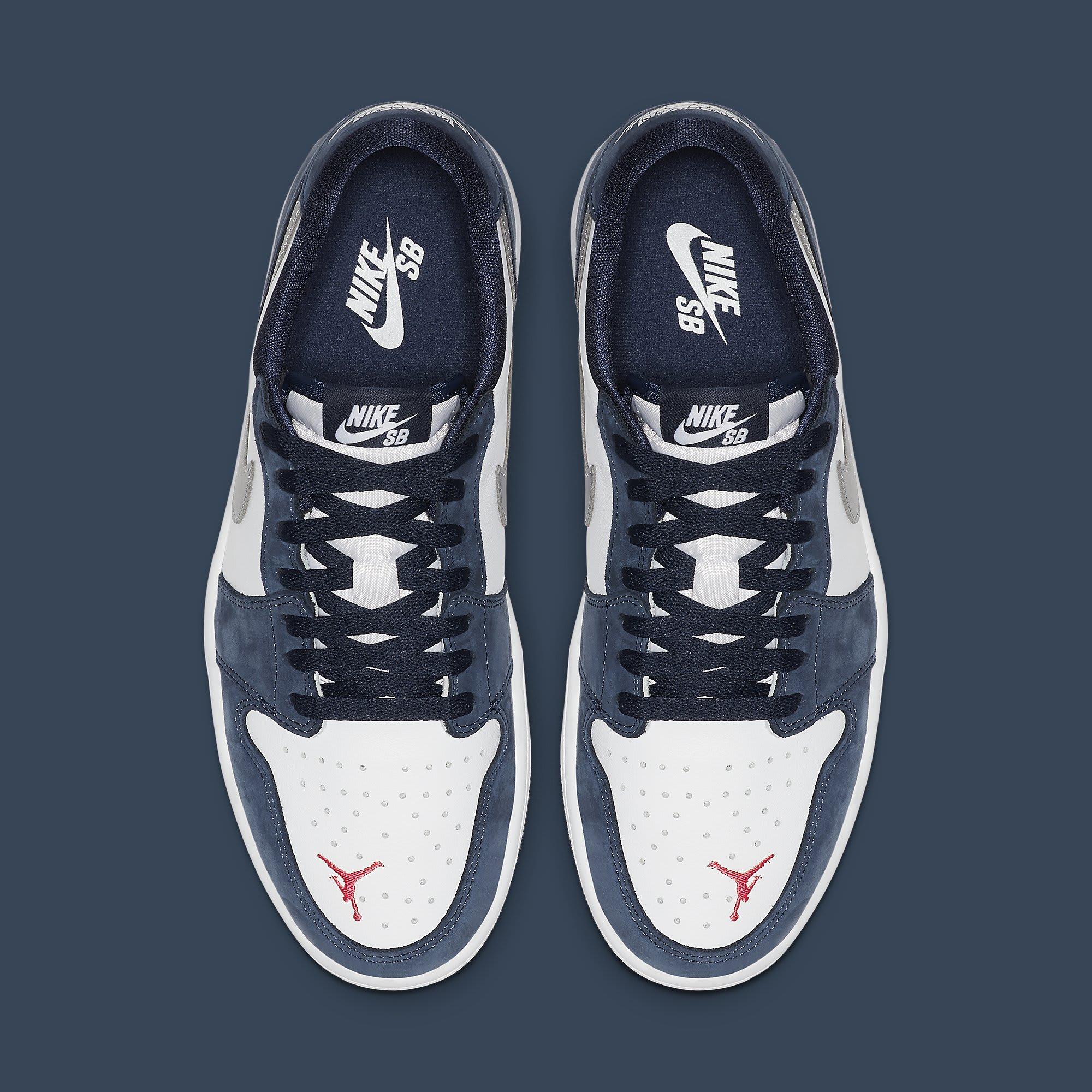 Nike SB Air Jordan 1 Low Koston Release Date CJ7891-400 Top