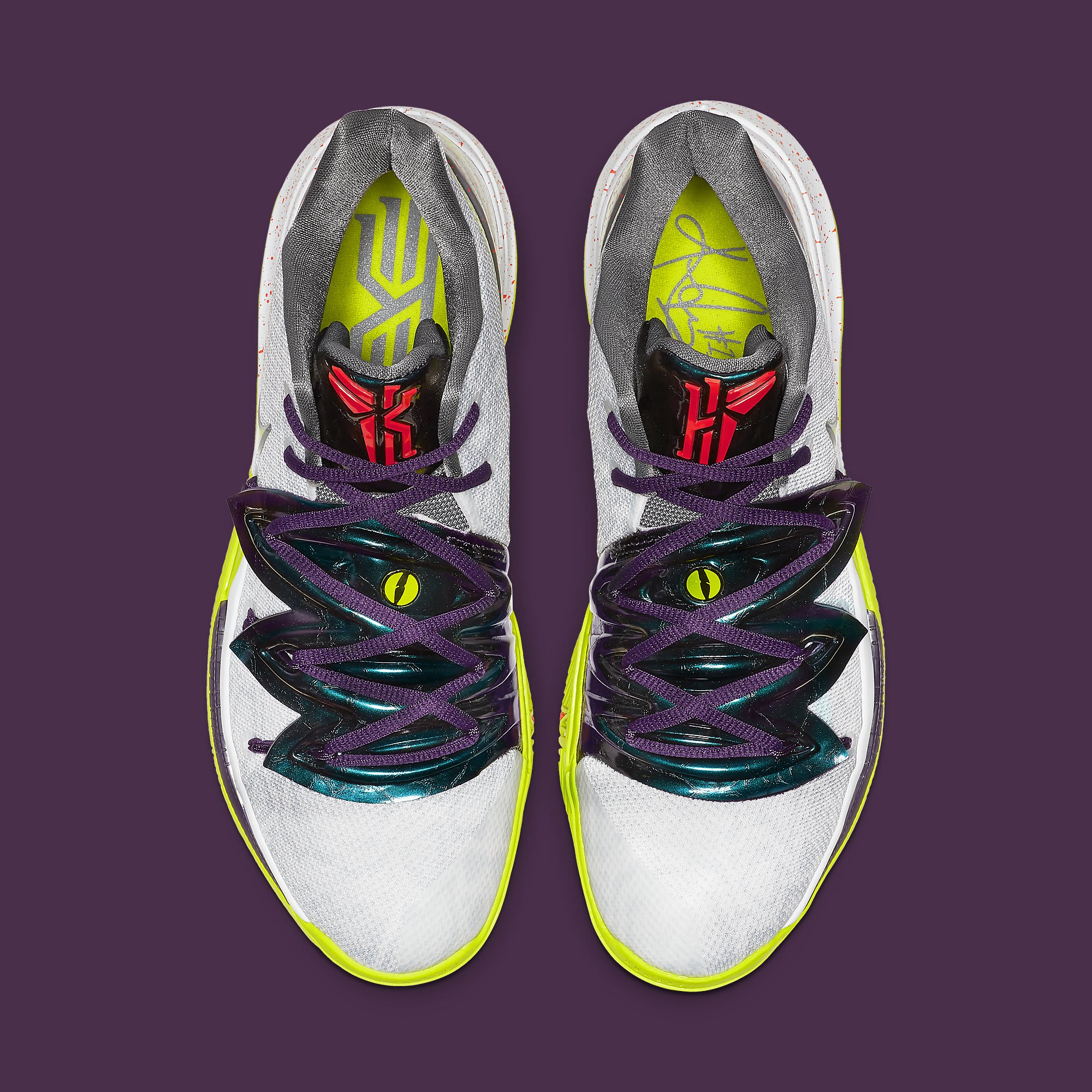 Nike Kyrie 5 Chaos Mamba Mentality Release Date AO2918-102 Top
