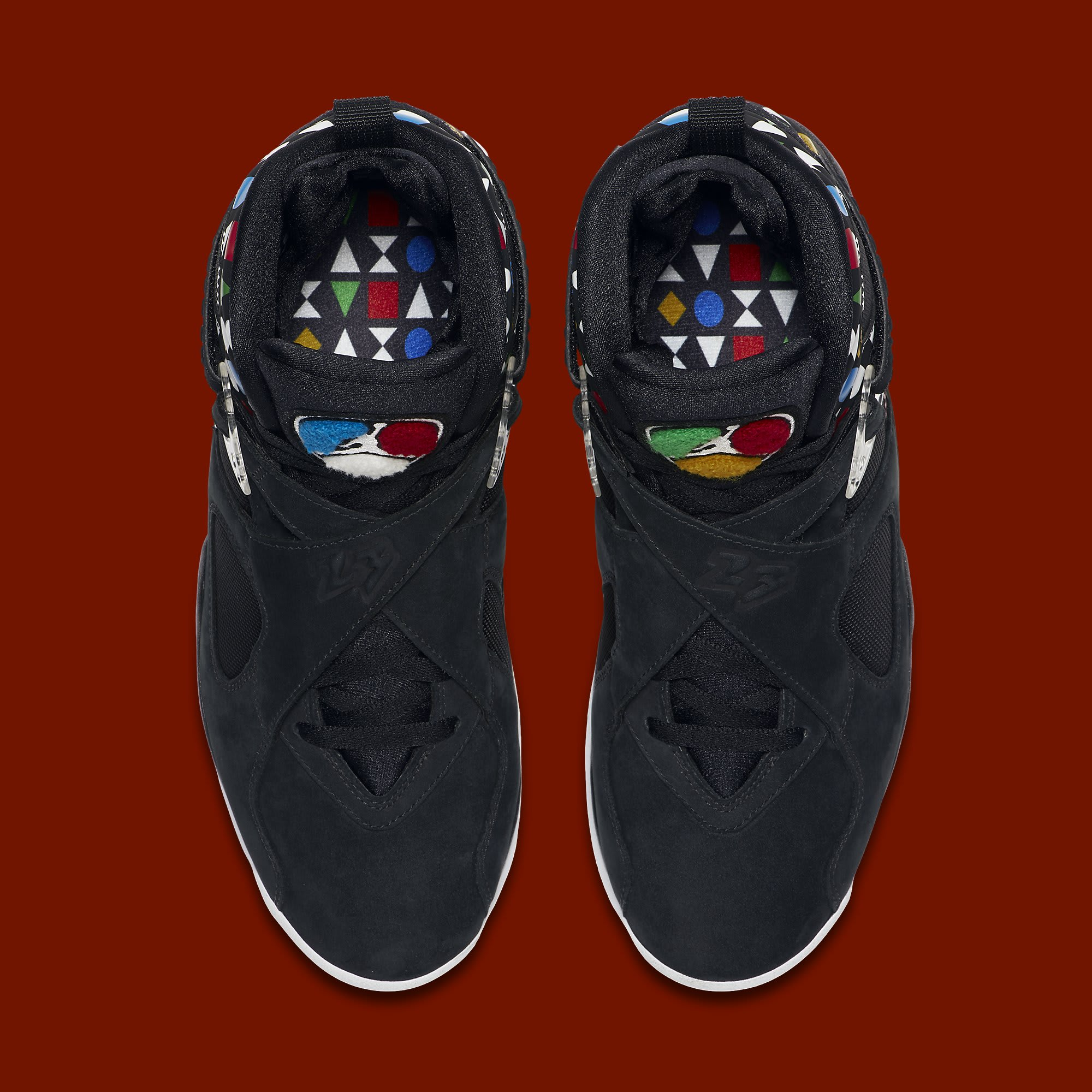 Air Jordan 8 Retro 'Quai 54' CJ9218-001 Top