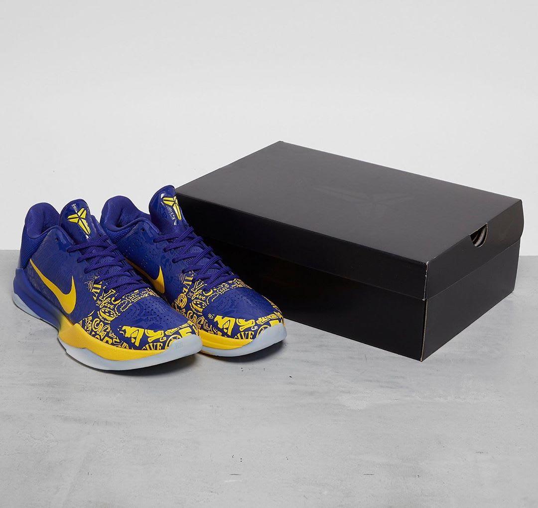 Nike Kobe 5 5 Rings Protro Release Date Box