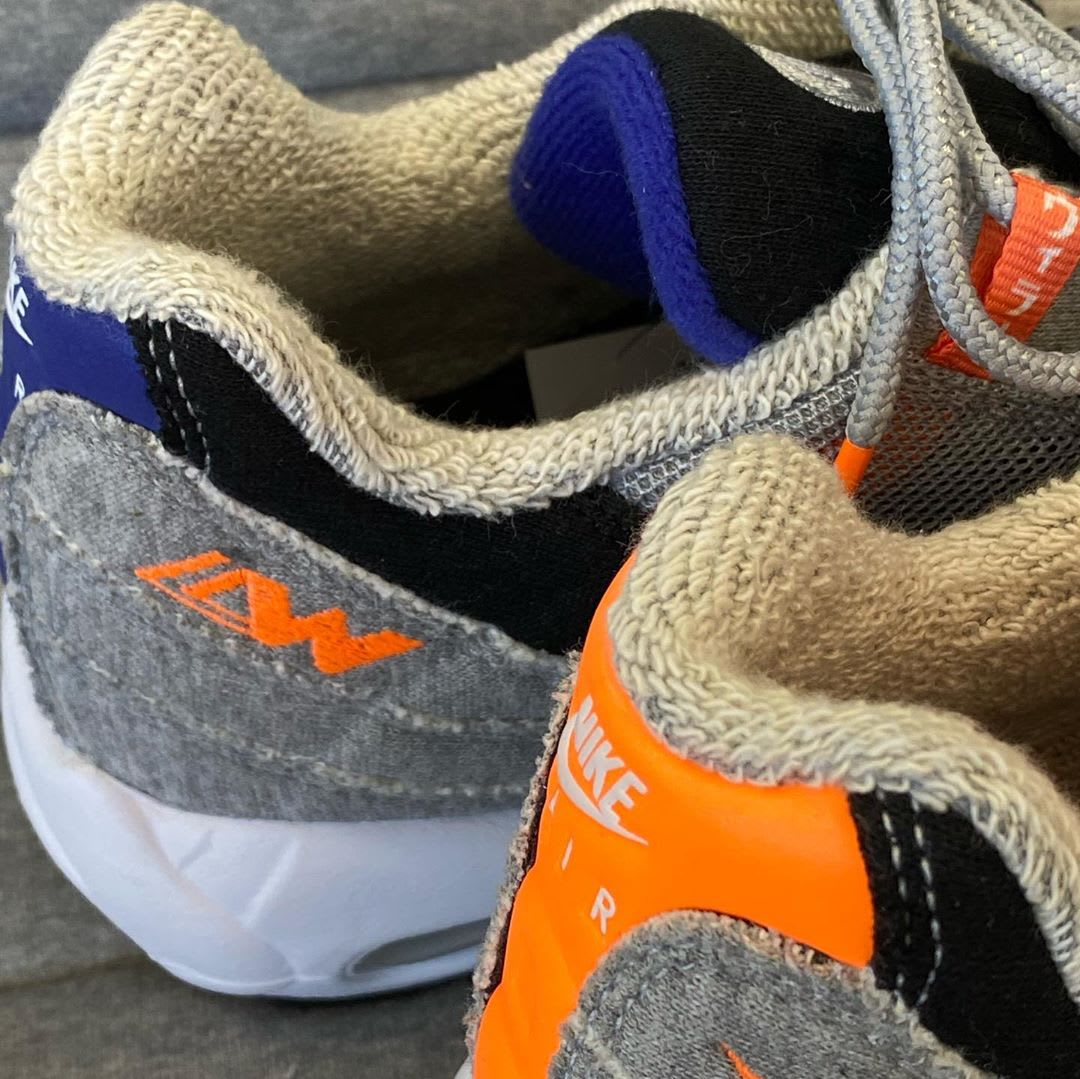 Loopwheeler x Nike Air Max 95 Lining
