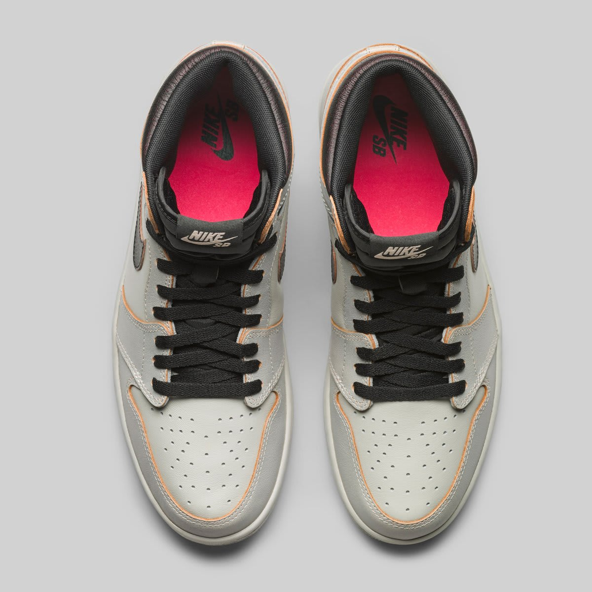 e1658a167d69 Nike SB x Air Jordan 1  Light Bone Crimson Tint-Hyper Pink-Black ...