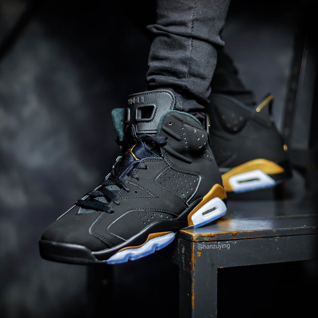 Air Jordan 6 DMP Release Date CT4594-007 On-Foot Toe