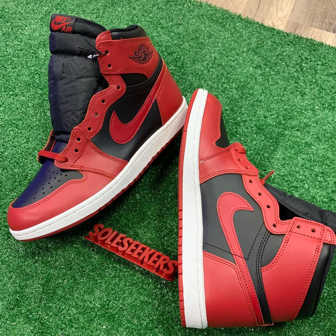 First Look at the New Black and Red Air Jordan 1 High '85