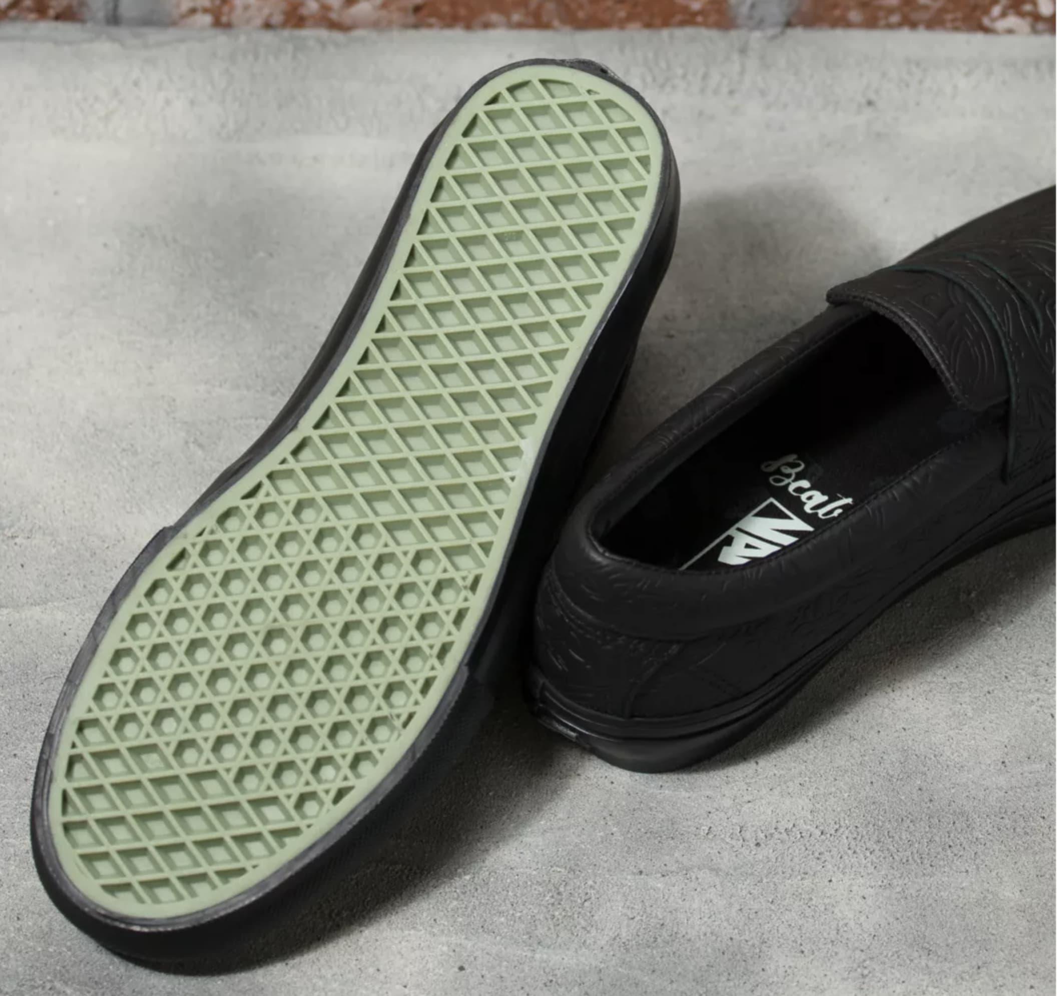 Beatrice Domond x Vans Skate Style 53 Collab Outsole
