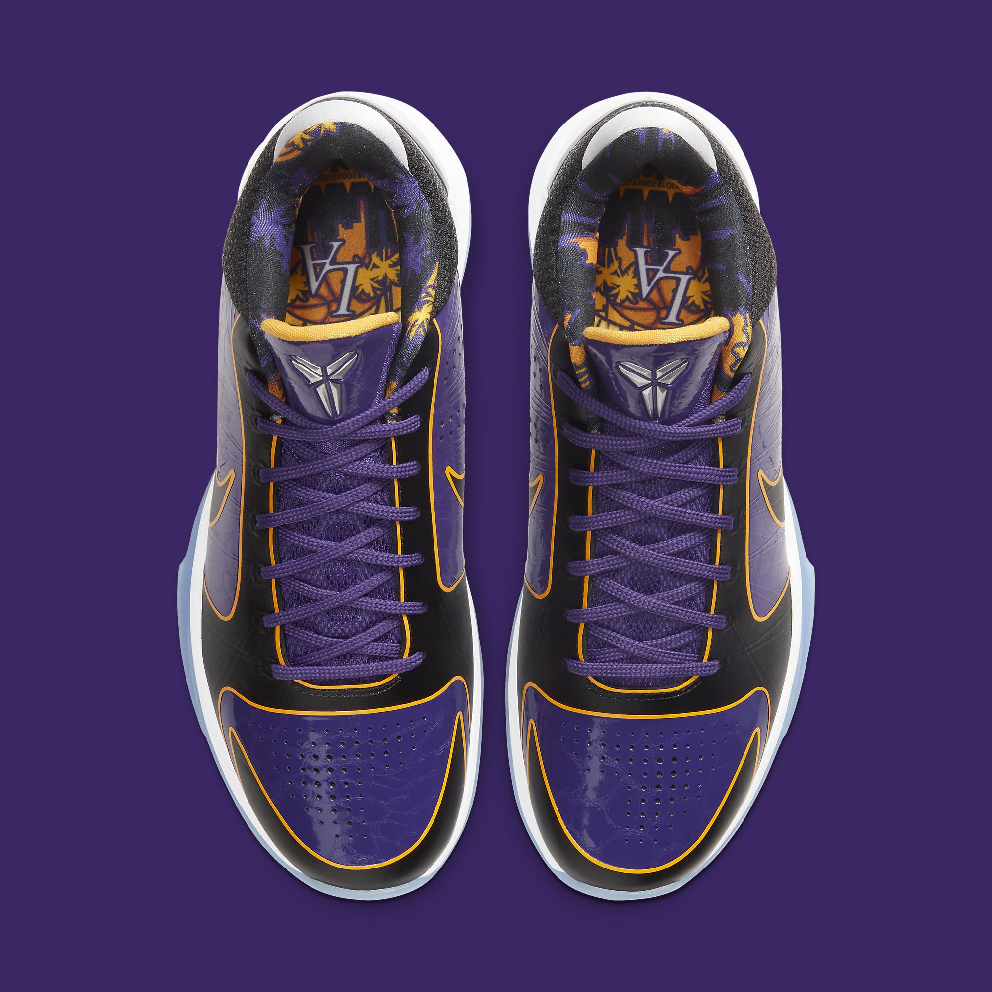 Nike Kobe 5 Protro Lakers Release Date CD4991-500 Top