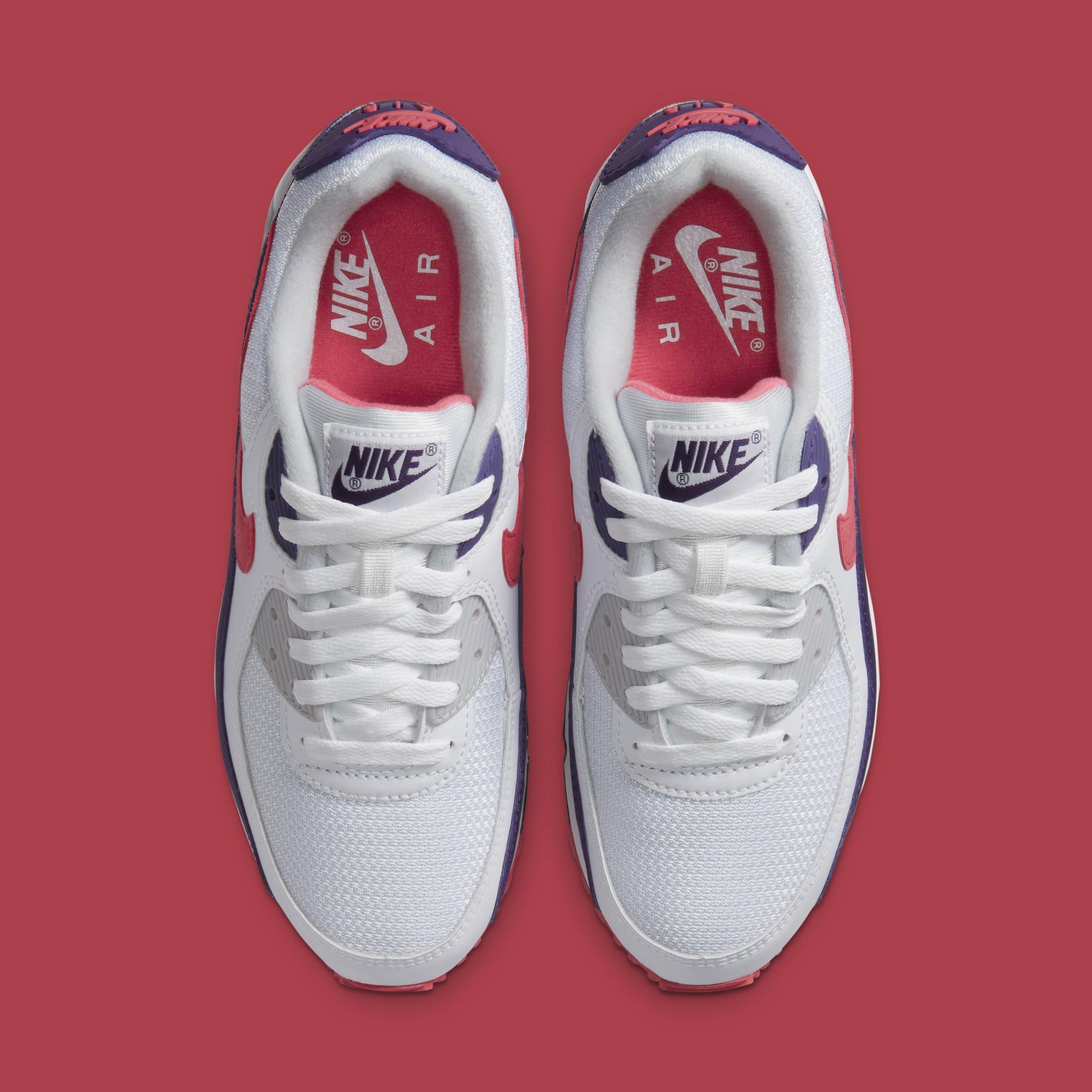 Nike Air Max 90 Women's 'Eggplant' CW1360-100 Top