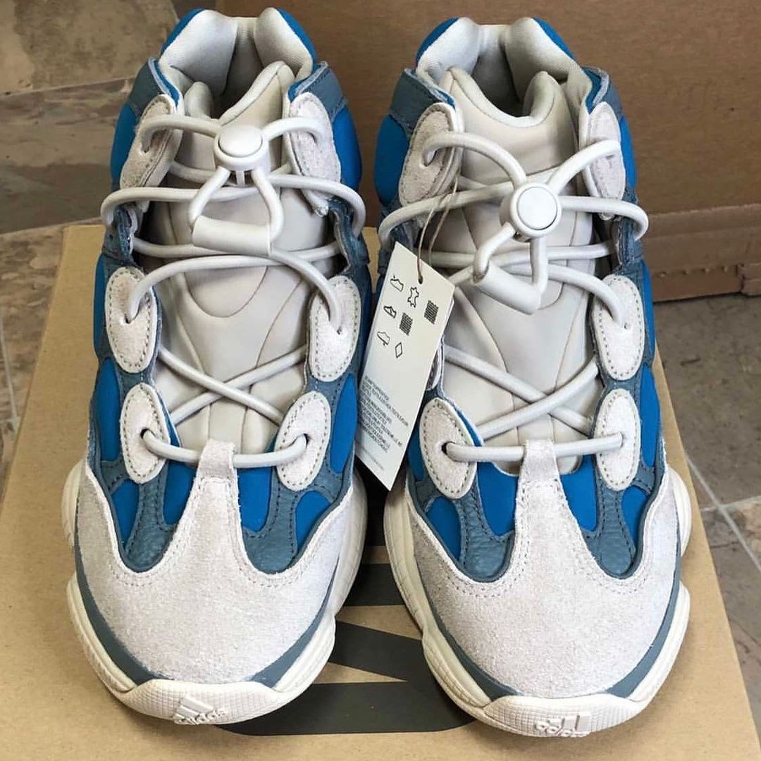 Adidas Yeezy 500 High Frosted Blue Release Date Front