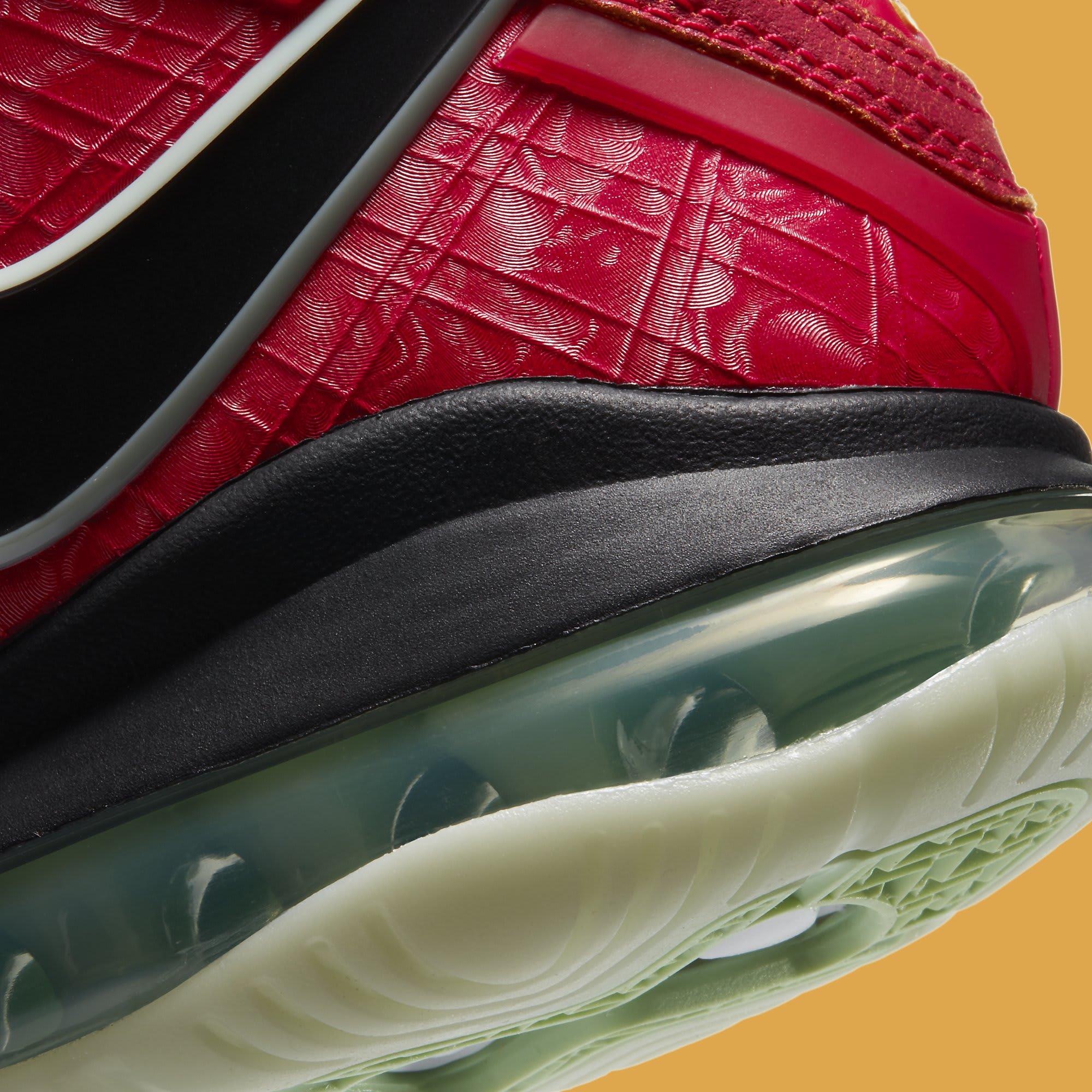 Nike LeBron 8 QS 'Gym Red' CT5330-600 Heel