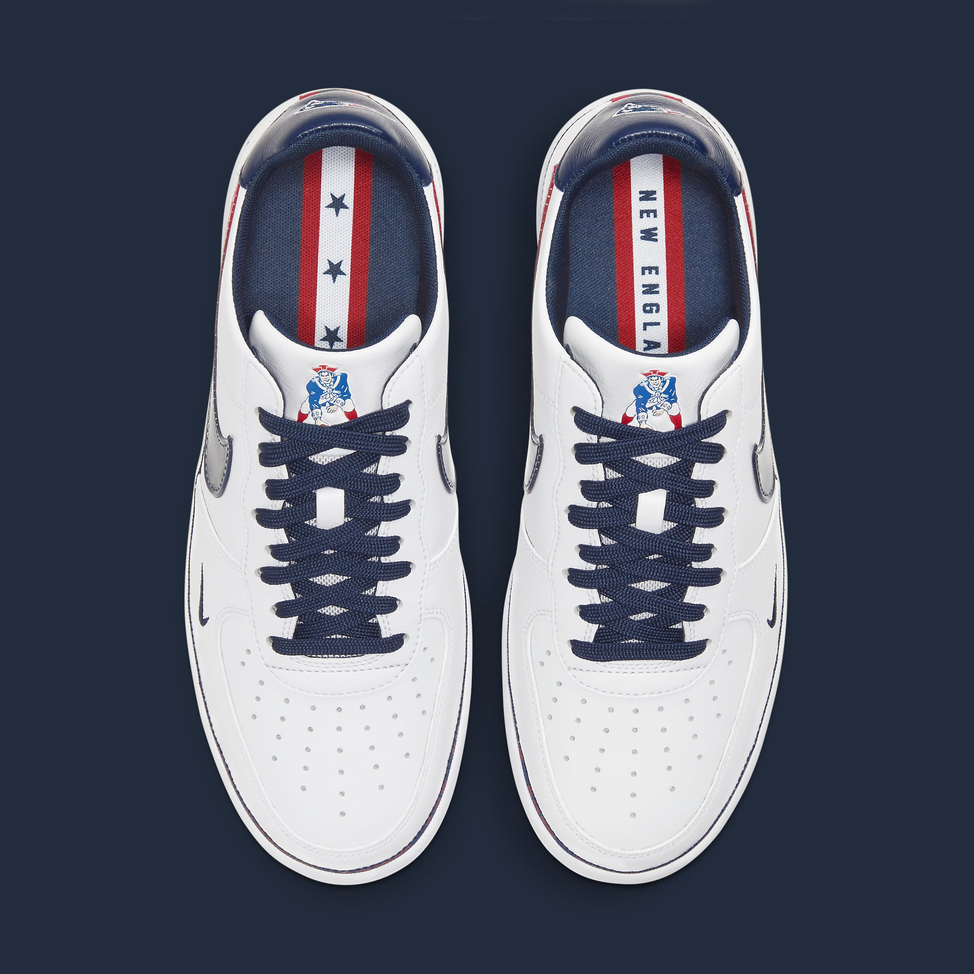 Nike Air Force 1 Ultraforce 'New England Patriots' DB6316-100 Top