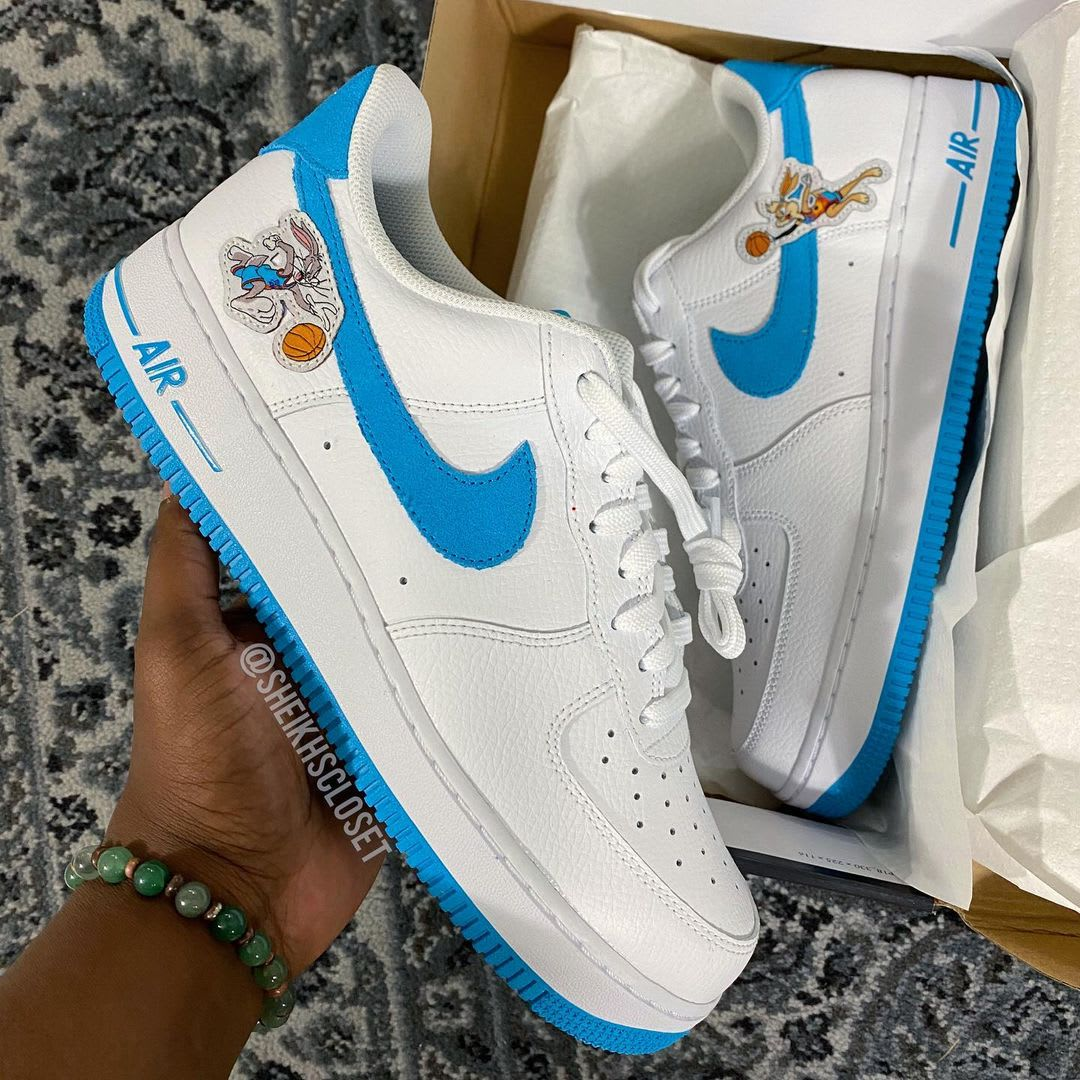 Nike Air Force 1 Low 'Space Jam' Side