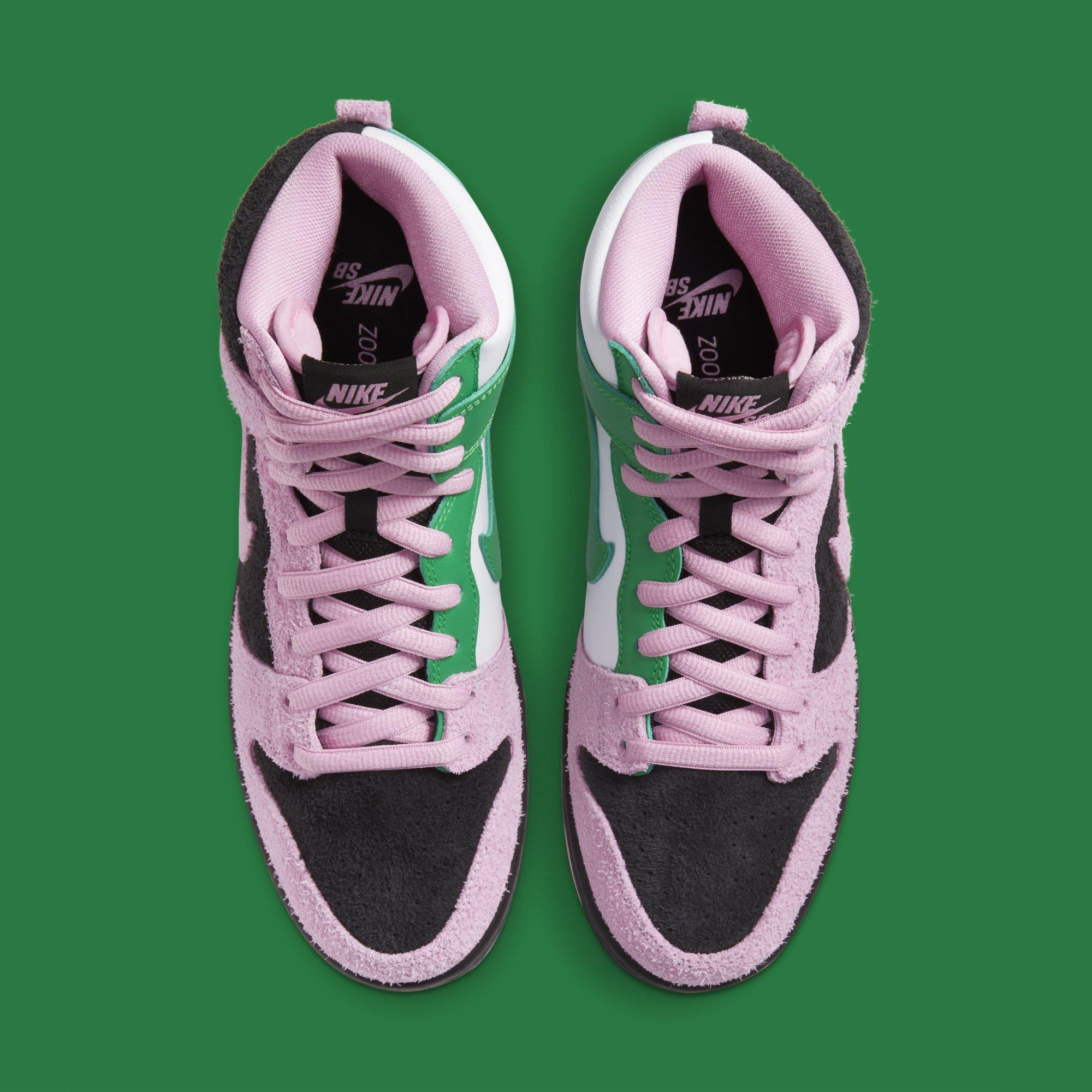 Nike SB Dunk High 'Invert Celtics' CU7349-001 Top