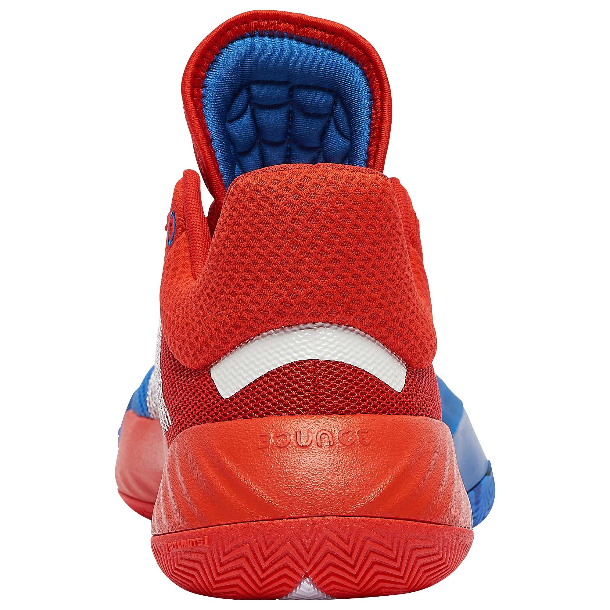 Adidas D.O.N. Issue 1 Blue Red White Release Date EF2400 Heel