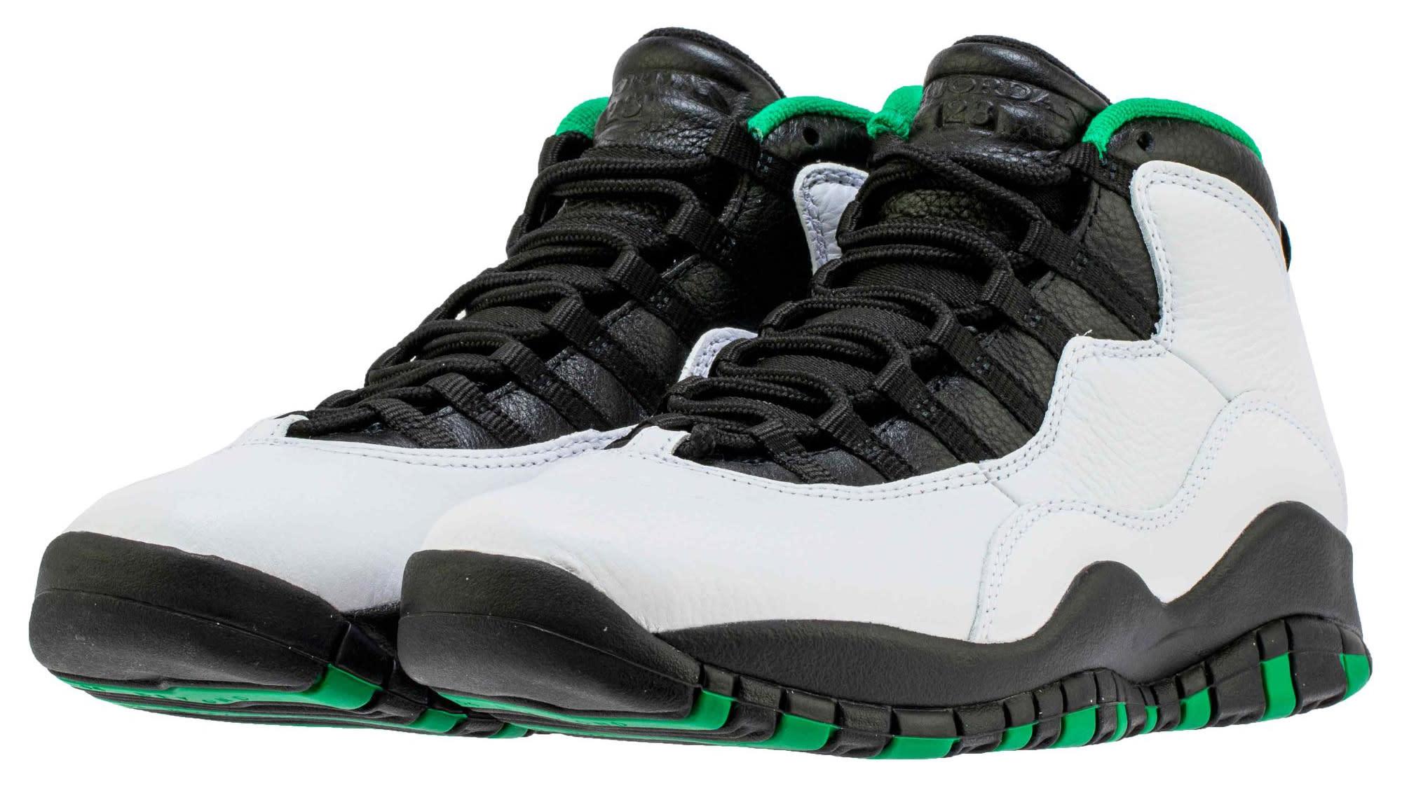 Air Jordan 10 Seattle Release Date 310805-137 Pair