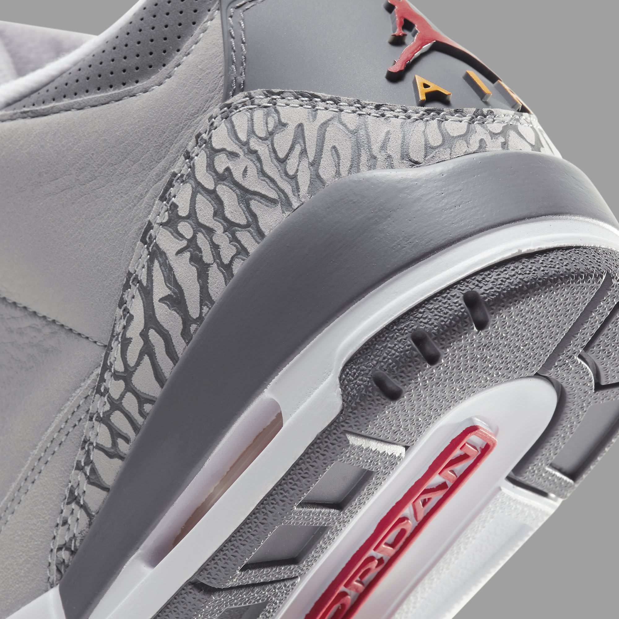 Air Jordan 3 Retro 'Cool Grey' 2021 CT8532-012 Heel