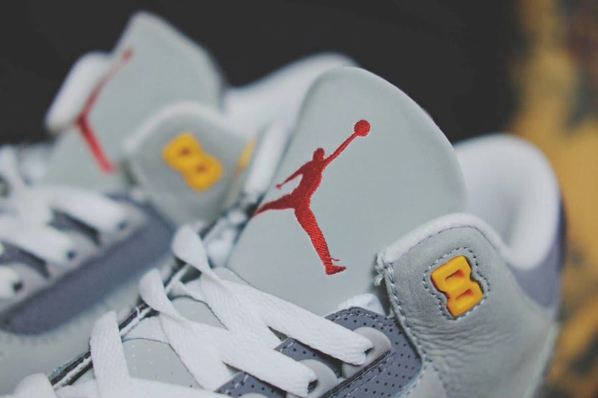 Air Jordan 3 Retro 'Cool Grey' 2021 CT8532-012 Tongue