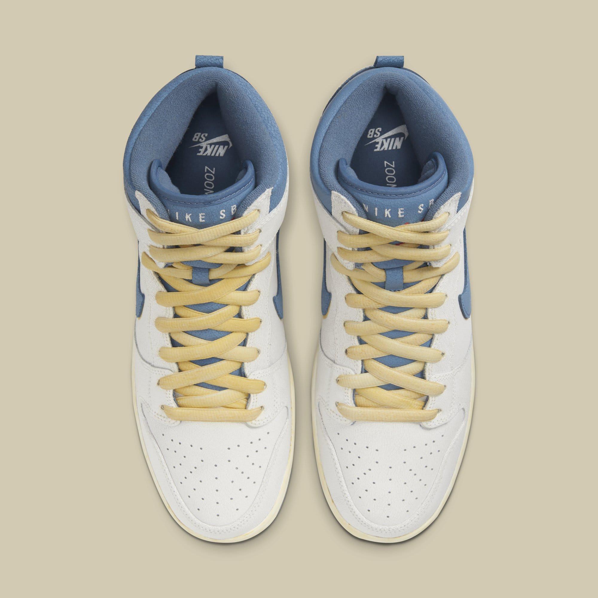 Atlas x Nike SB Dunk High CZ3334-100 Top