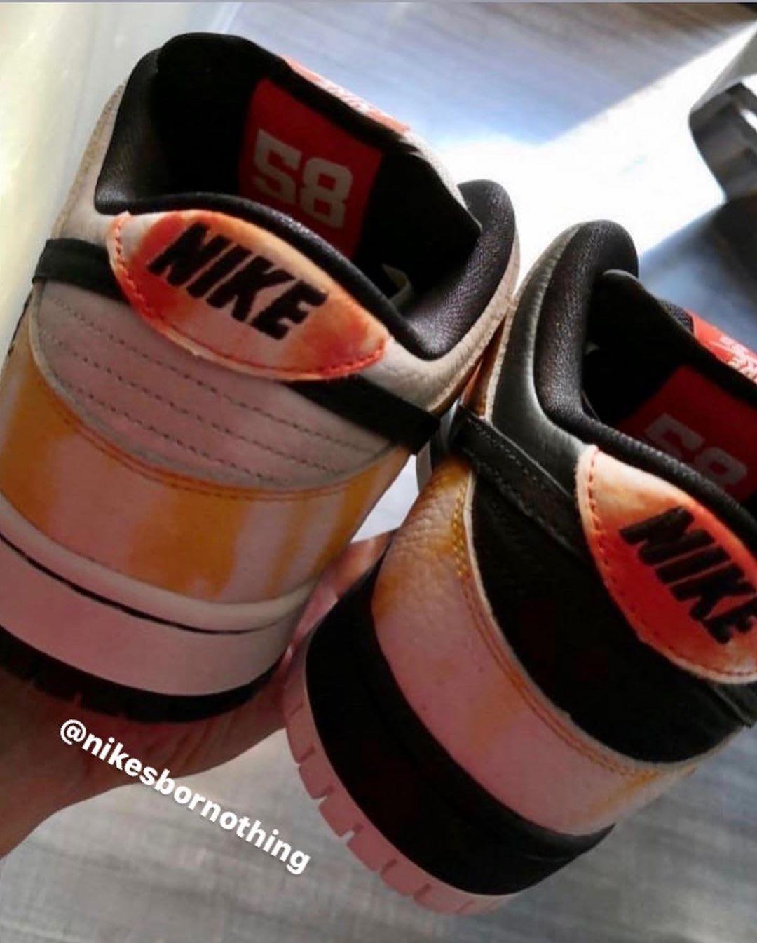 Nike SB Dunk Low 'Raygun Tie Dye' BQ6832-001 (White and Black Heels)