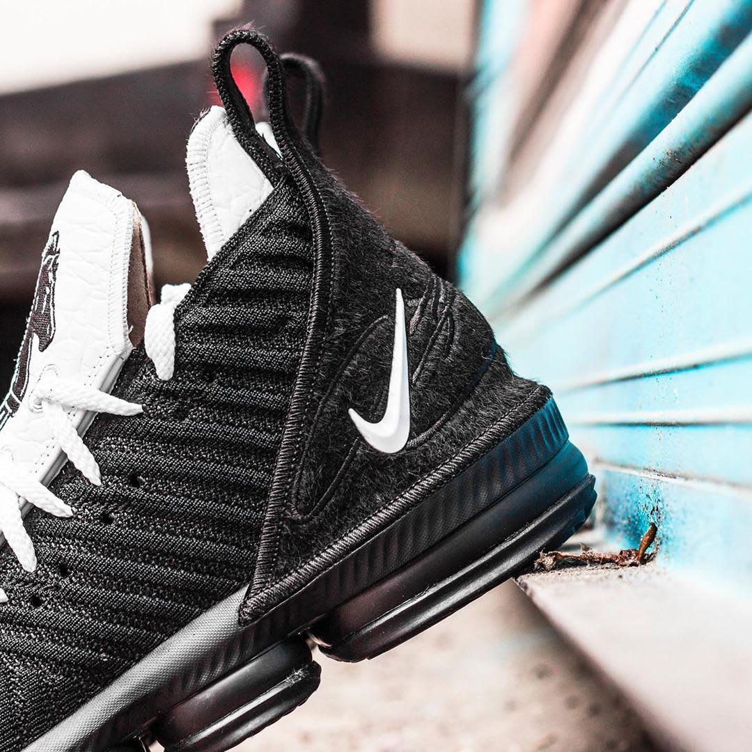 Nike LeBron 16 Four Horsemen Release Date CI7862-001 Heel