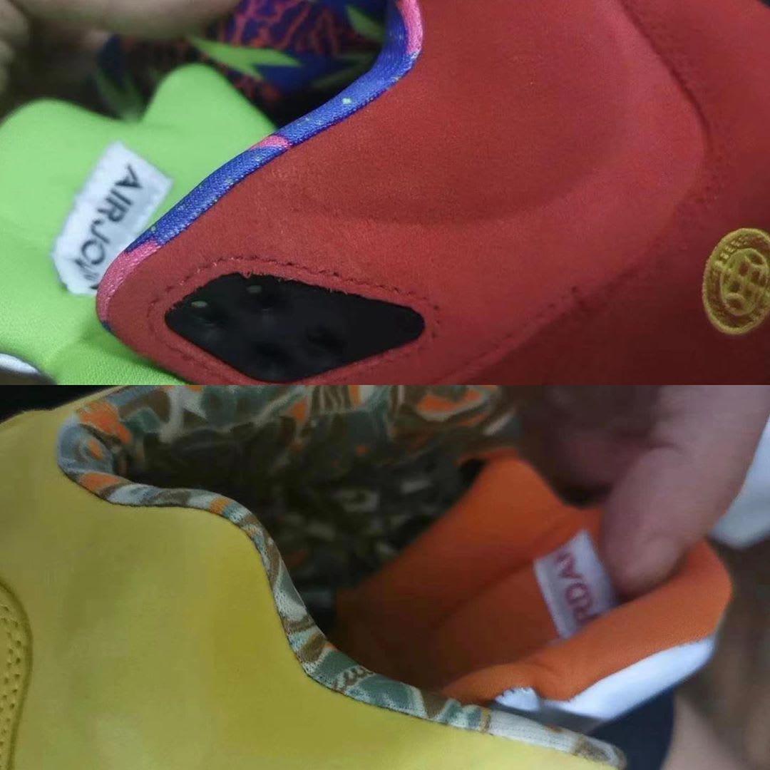 Air Jordan 5 Retro 'What The' First Look Sock Liner