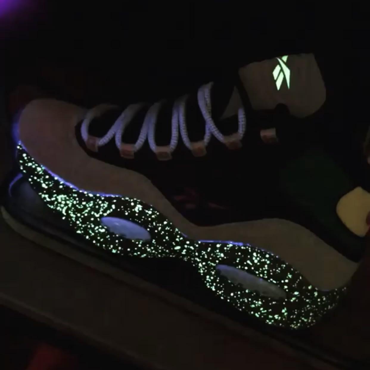 Nice Kicks x Reebok Question Bubba Chuck Release Date glow