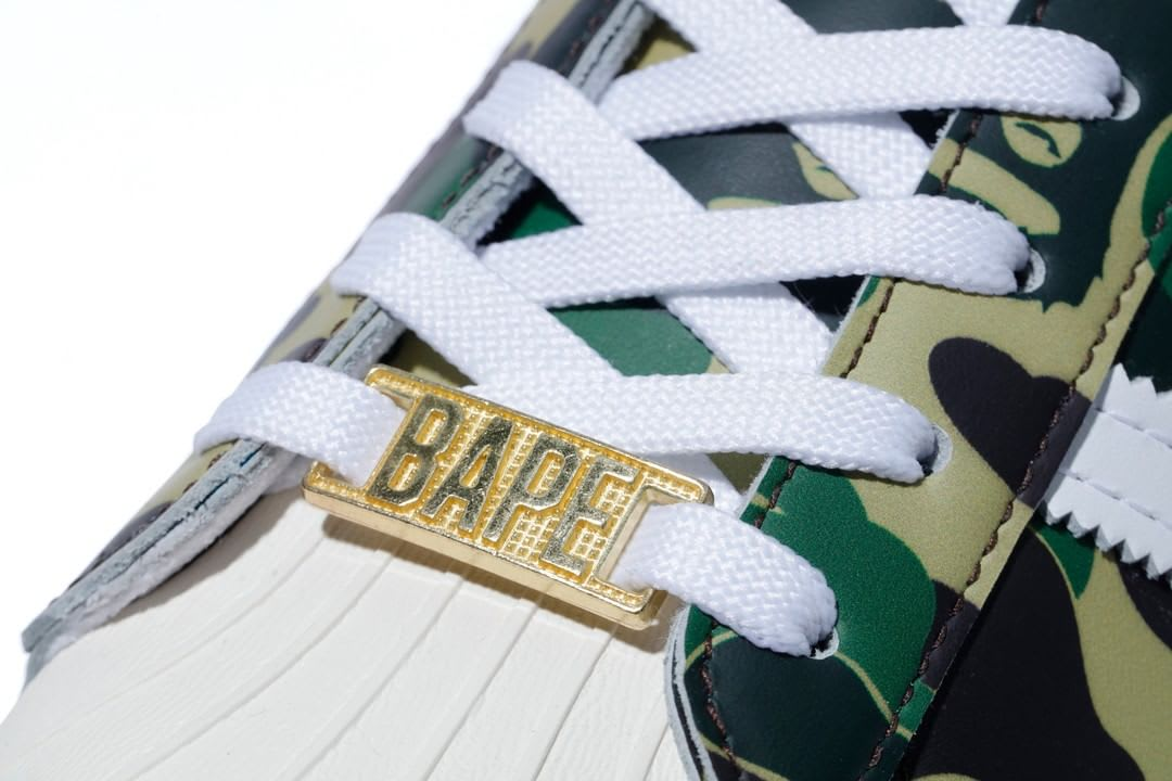 Bape x Adidas Superstar 'Green Camo' Dubrae