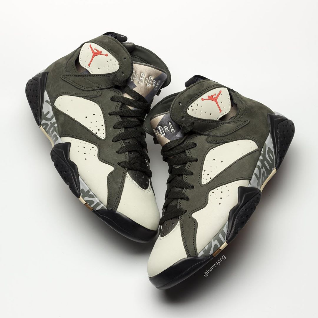 b101536e47f61 Patta x Air Jordan 7 OG SP AT3375-100 AT3375-200 Release Date | Sole ...