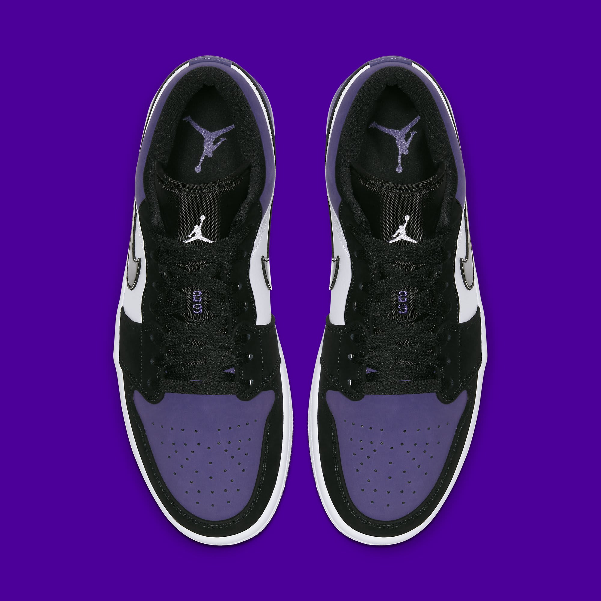 air jordan 1 court purple low