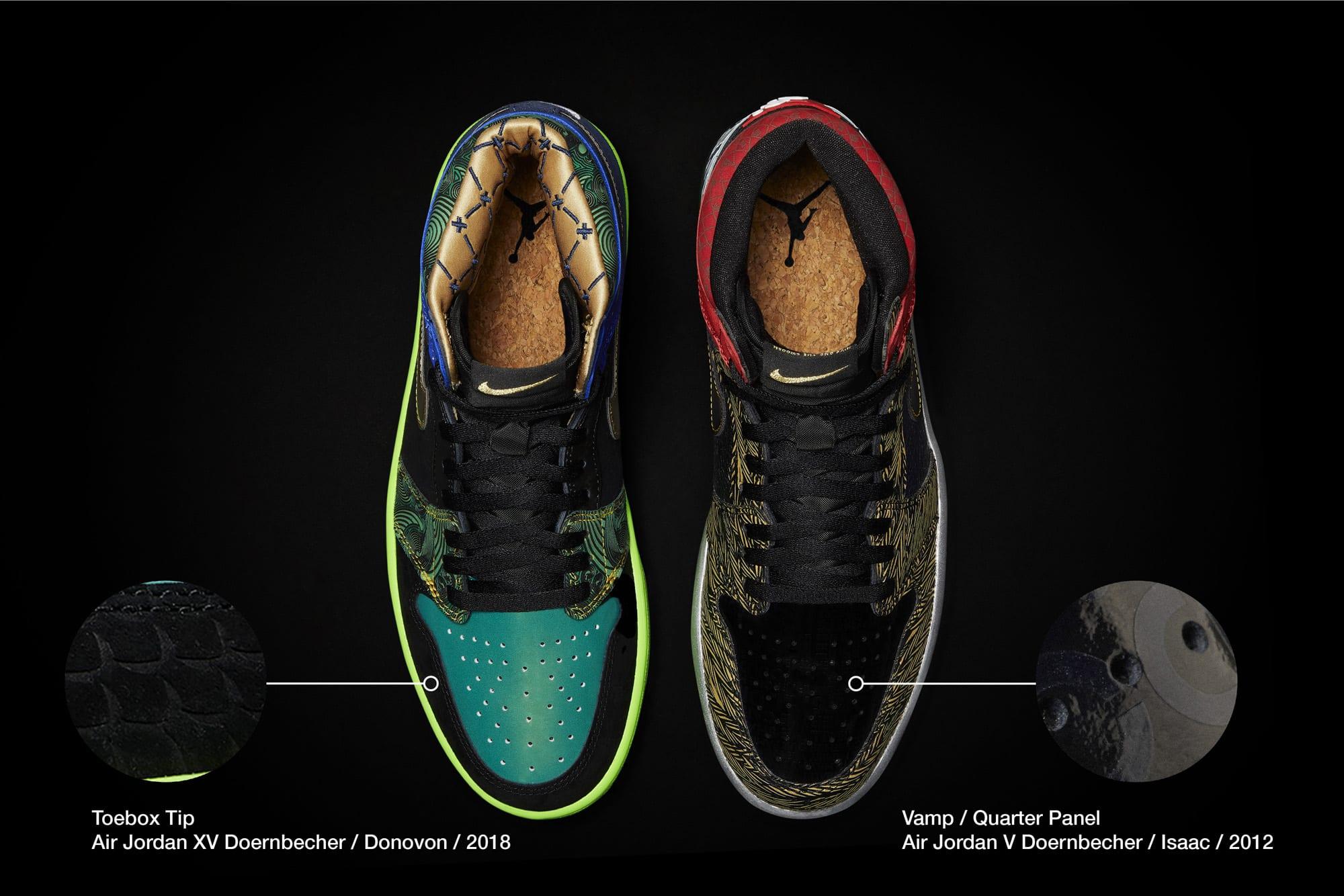 What The Air Jordan 1 Doernbecher Top