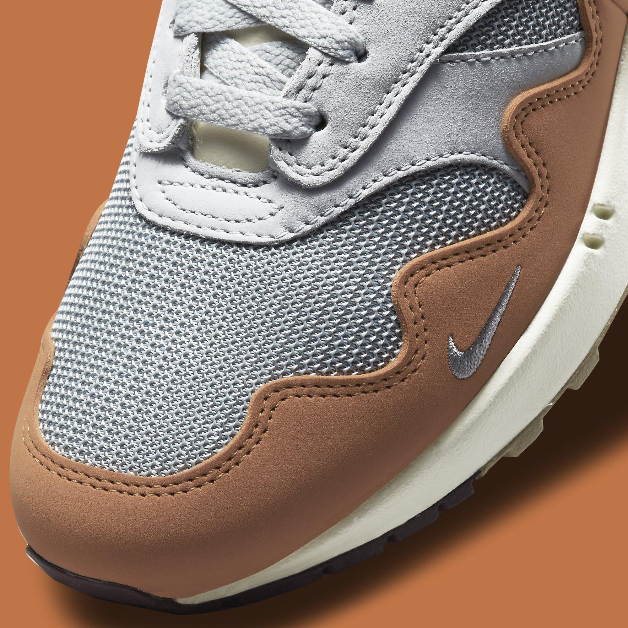 Patta x Nike Air Max 1 'Monarch' DH1348-001 Toe