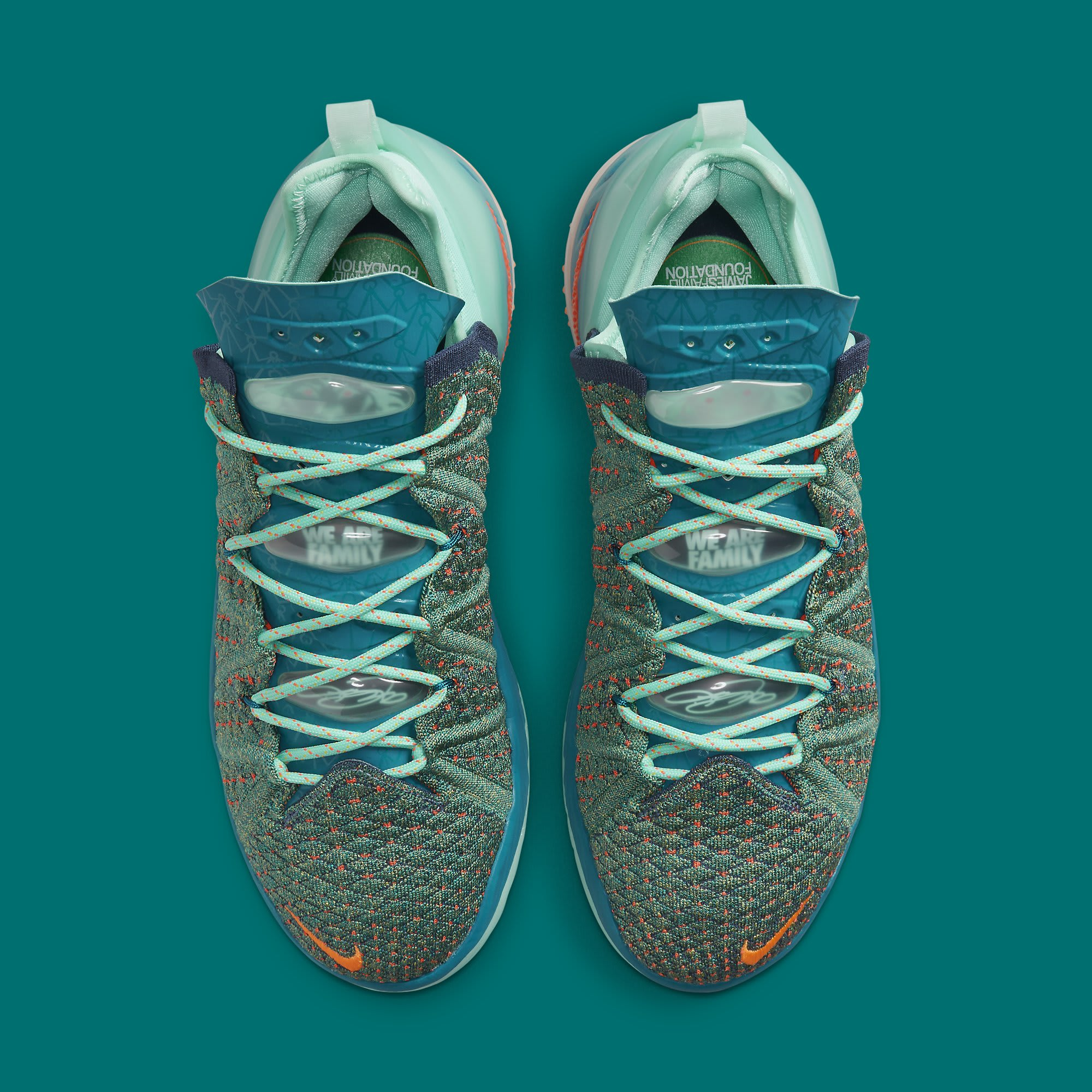 Nike LeBron 18 We Are Family Release Date CQ9283-300 Top