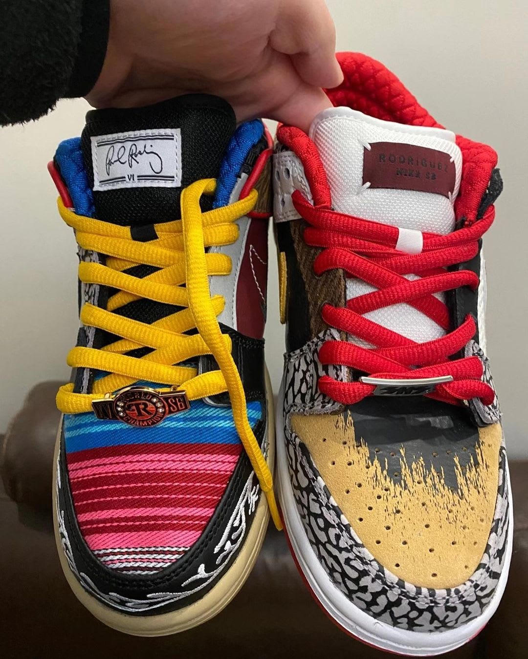 Nike SB Dunk Low What The PRod Release Date Front