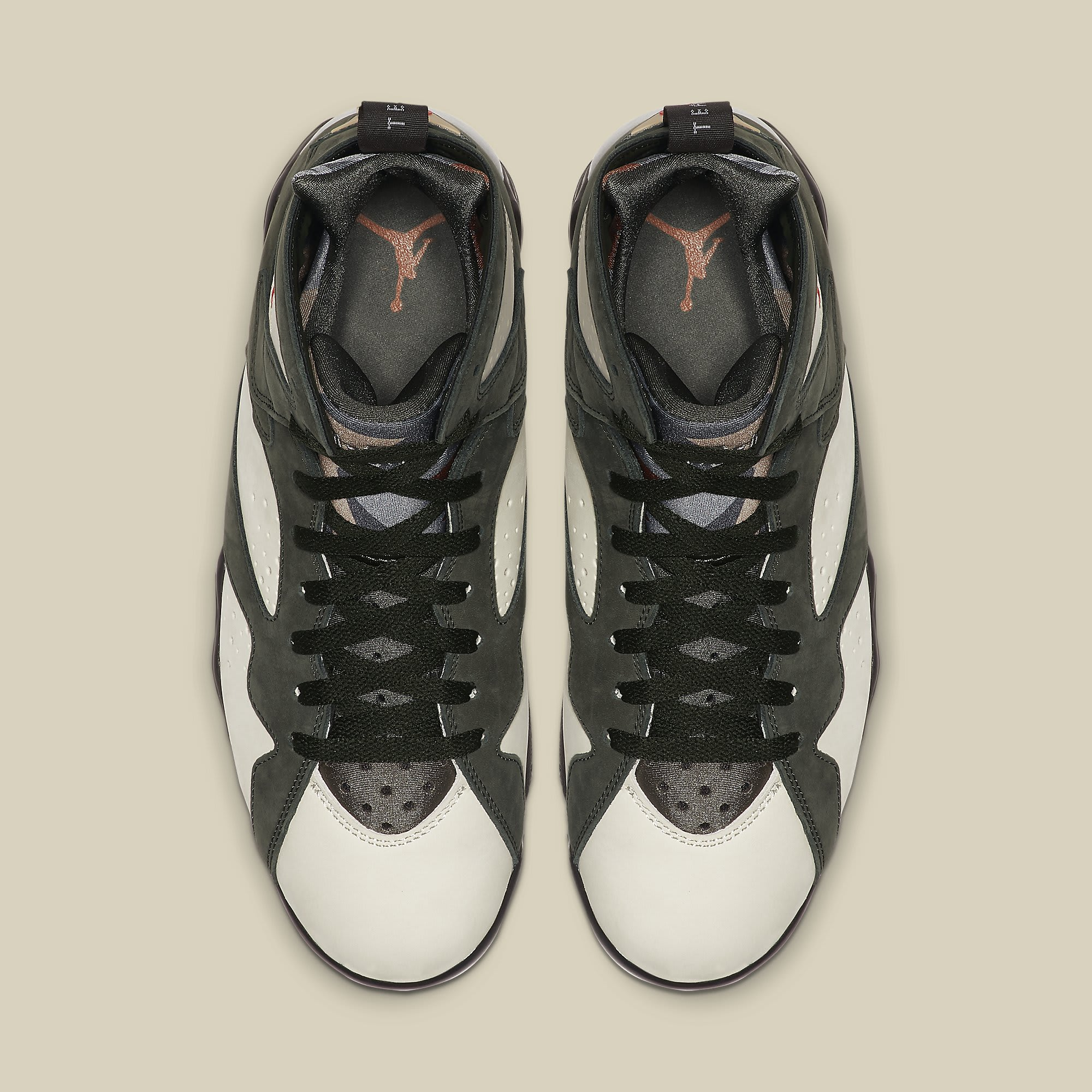 Patta x Air Jordan 7 VII Icicle Release Date AT3375-100 Top