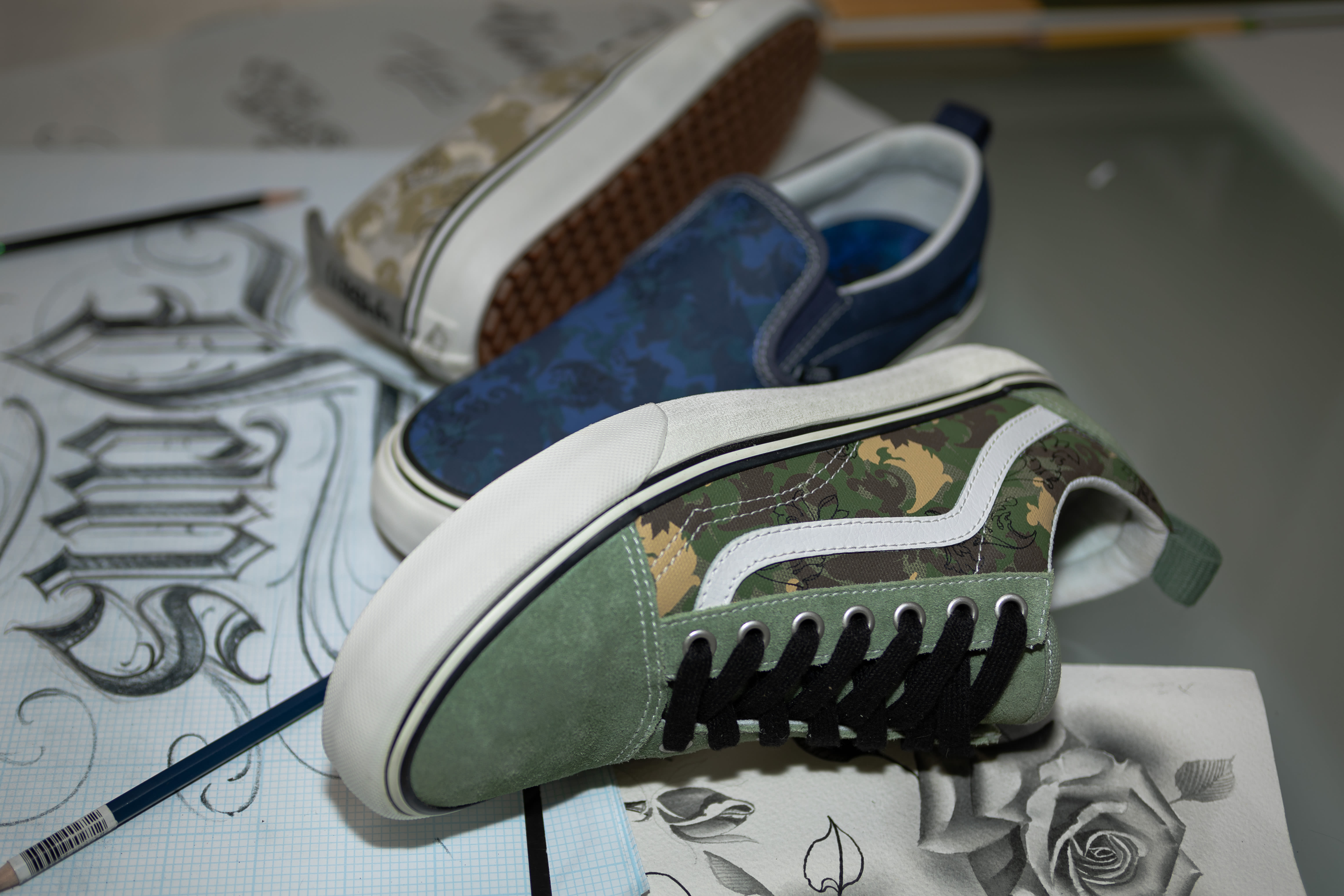 BJ Betts x Vans 'Made for the Makers' Collab