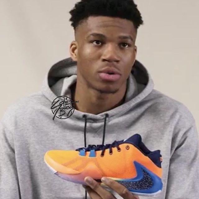 Nike Zoom Freak 1 'Orange' 1