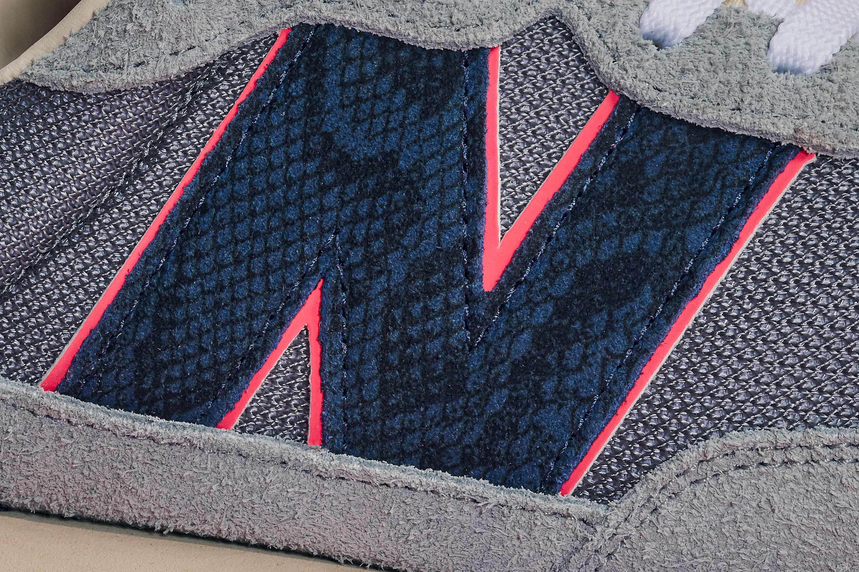 Sneakersnstuff x New Balance 237 'Blue Racer' (Logo Detail)
