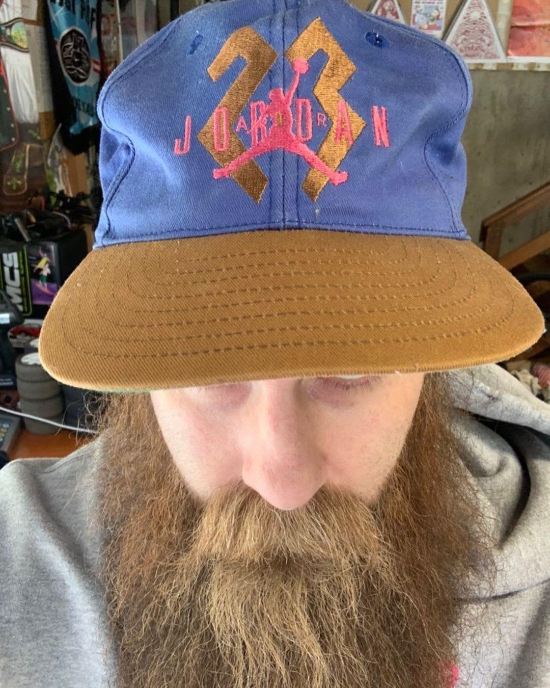 Steve Pelletier's Air Jordan Hat
