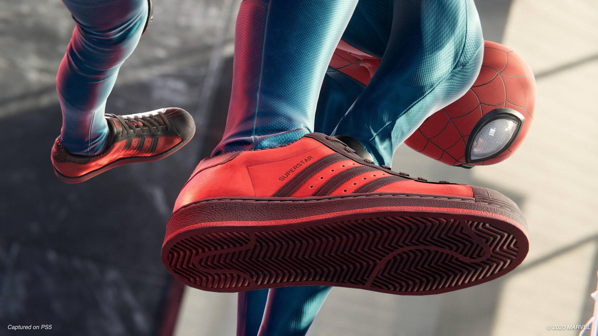 Marvel's Miles Morales x Adidas Superstar Low