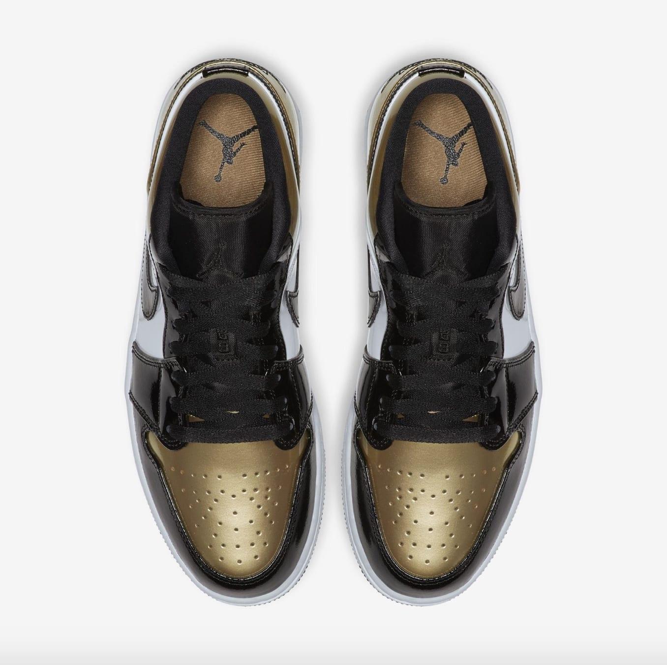 Air Jordan 1 Low 'Gold Toe' (Top)