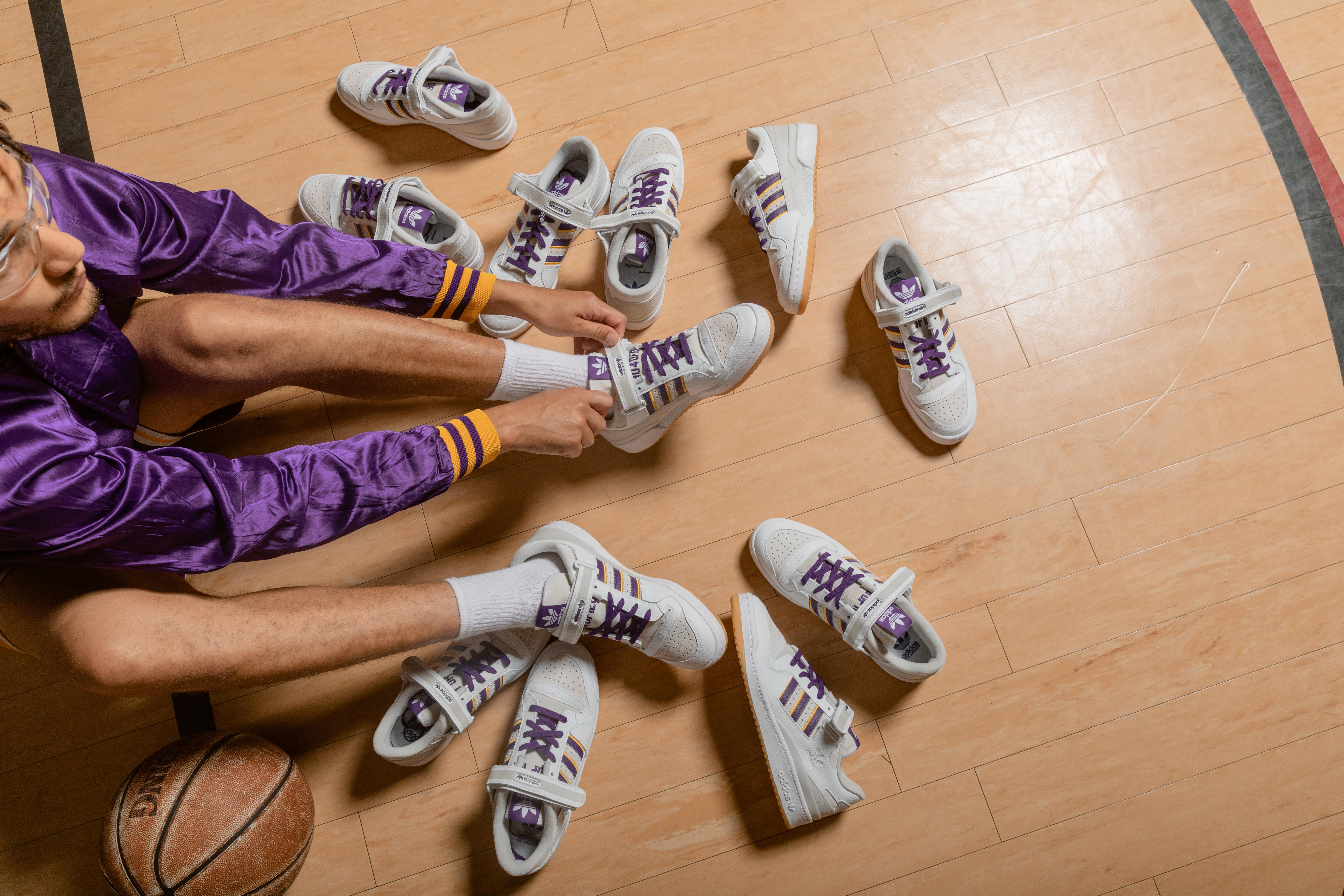 Shoe Palace x Adidas Forum Low