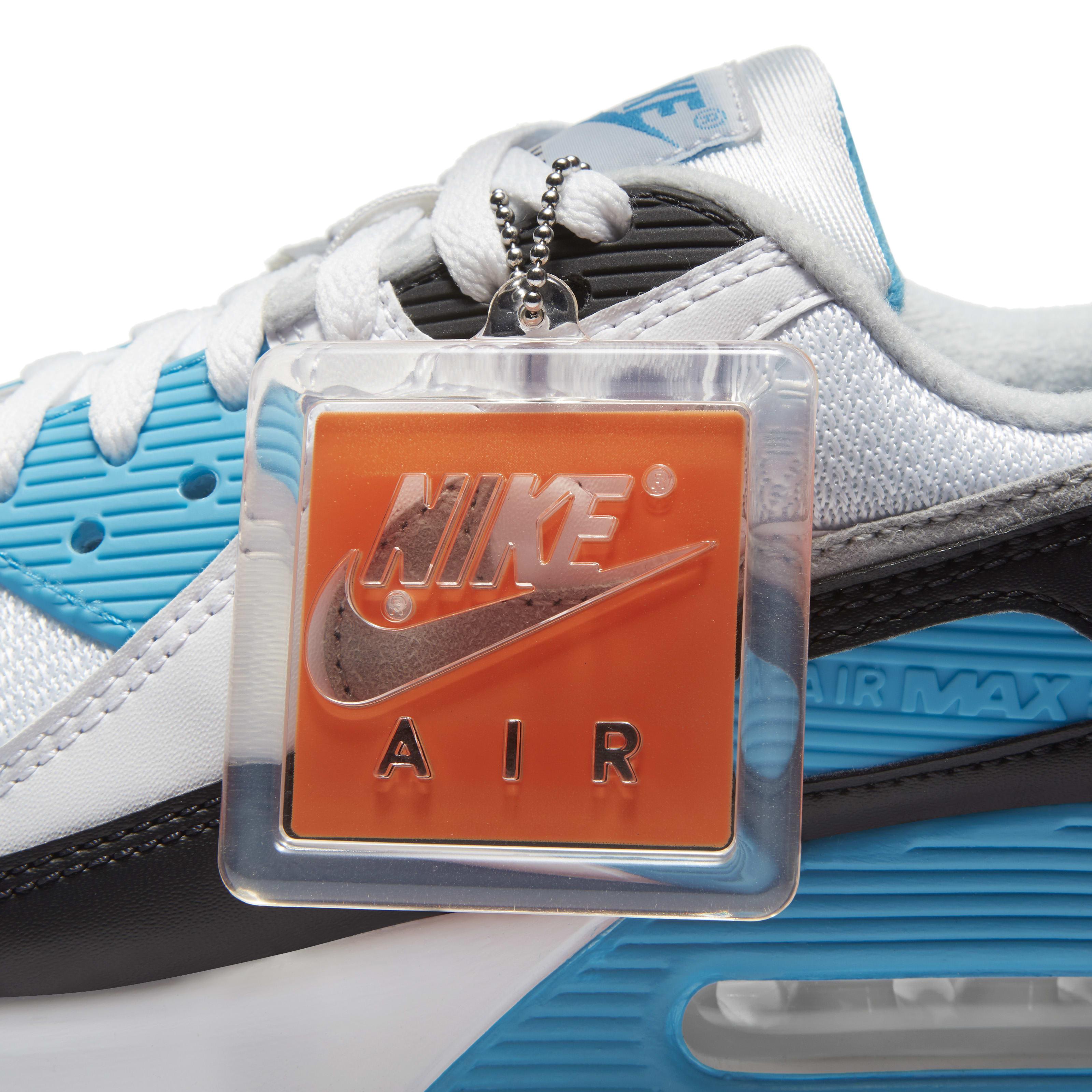 Nike Air Max 90 'Laser Blue' 2020 Hang Tag