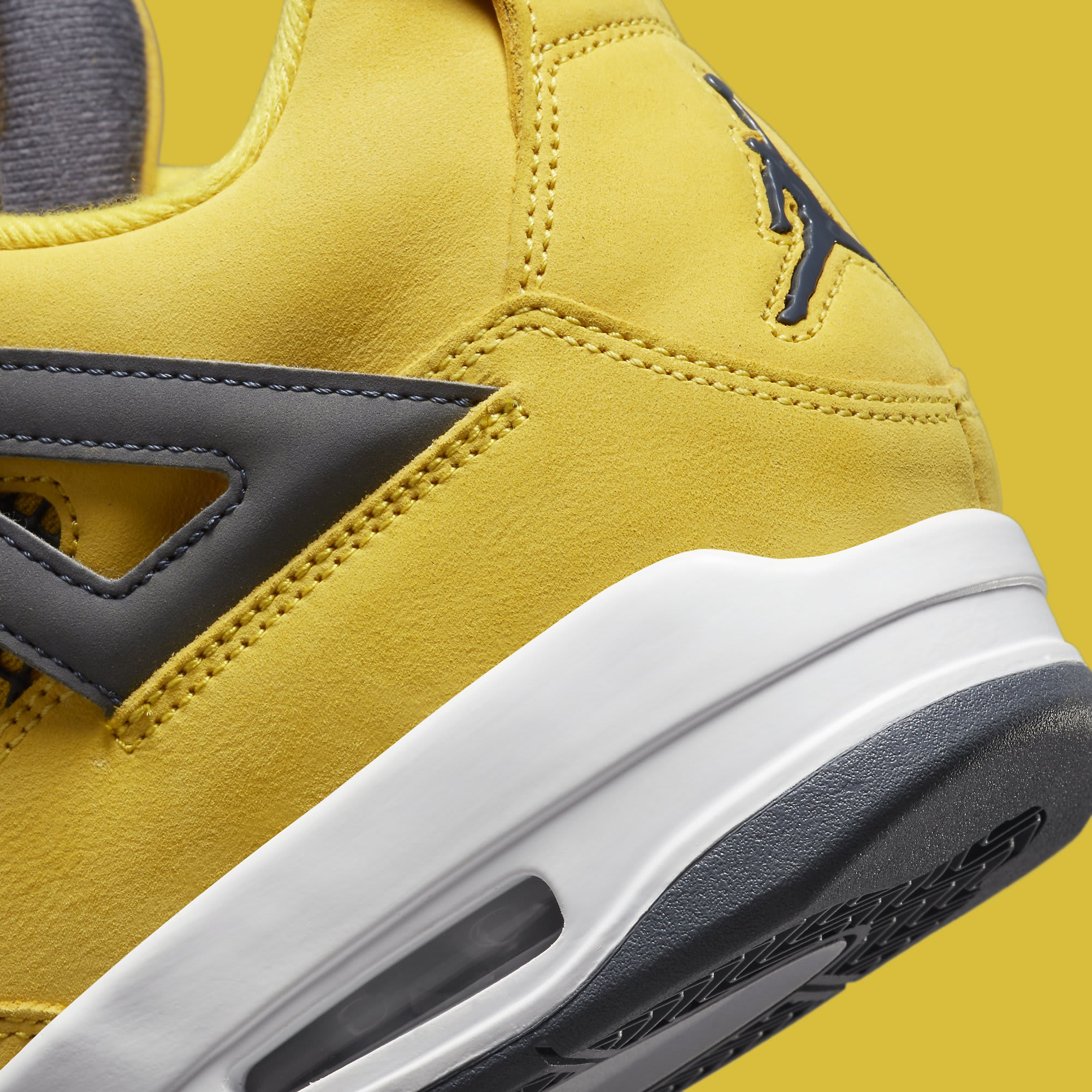 Air Jordan 4 Retro 'Lightning' CT8527-700 Heel