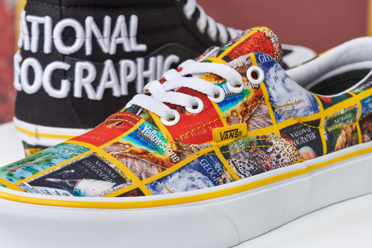 National Geographic x Vans Collection